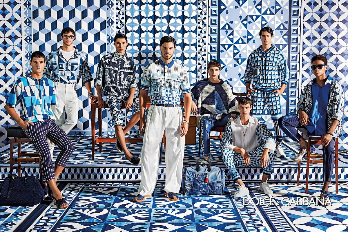 Dolce & Gabbana Men's Spring 2021 Ad Campaign Photos