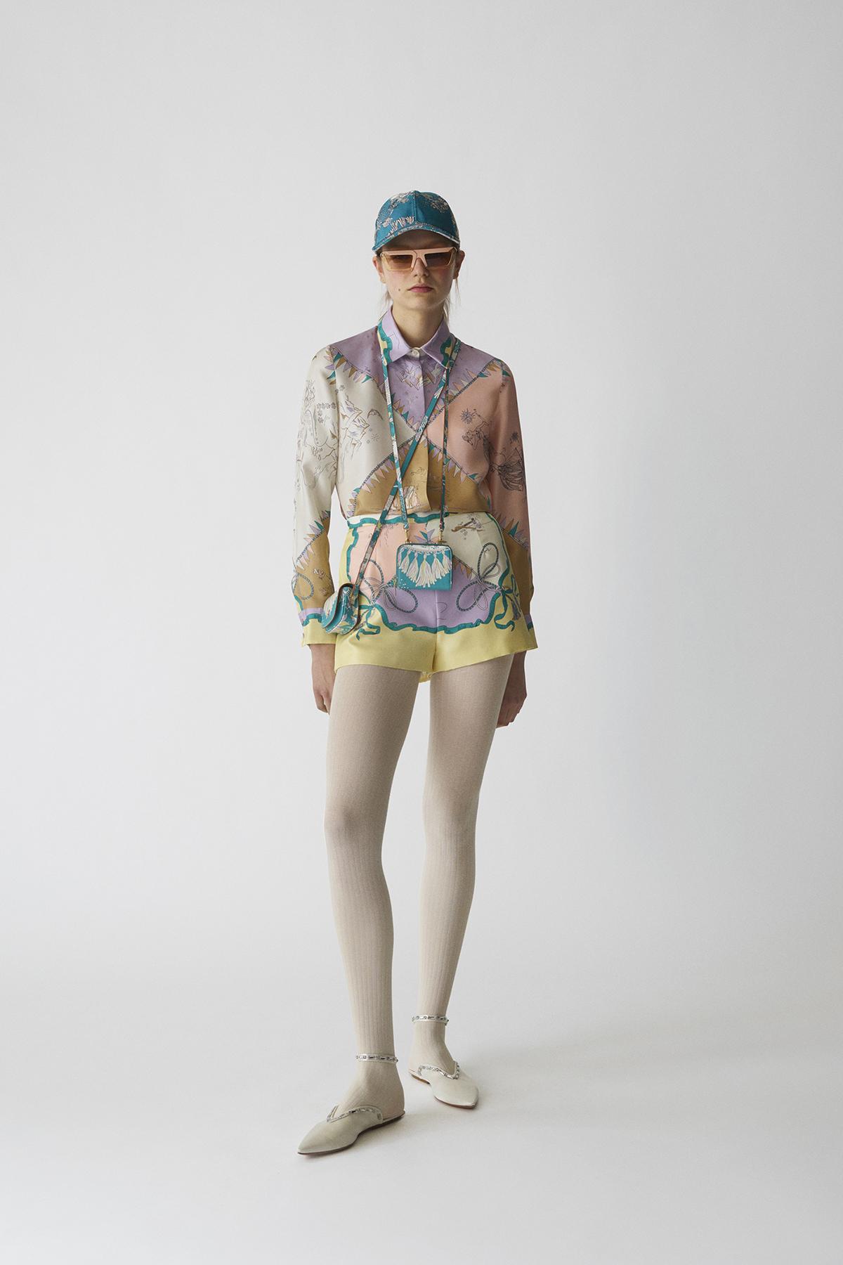 Emilio Pucci Pre-Fall 2021 Fashion Show Photos
