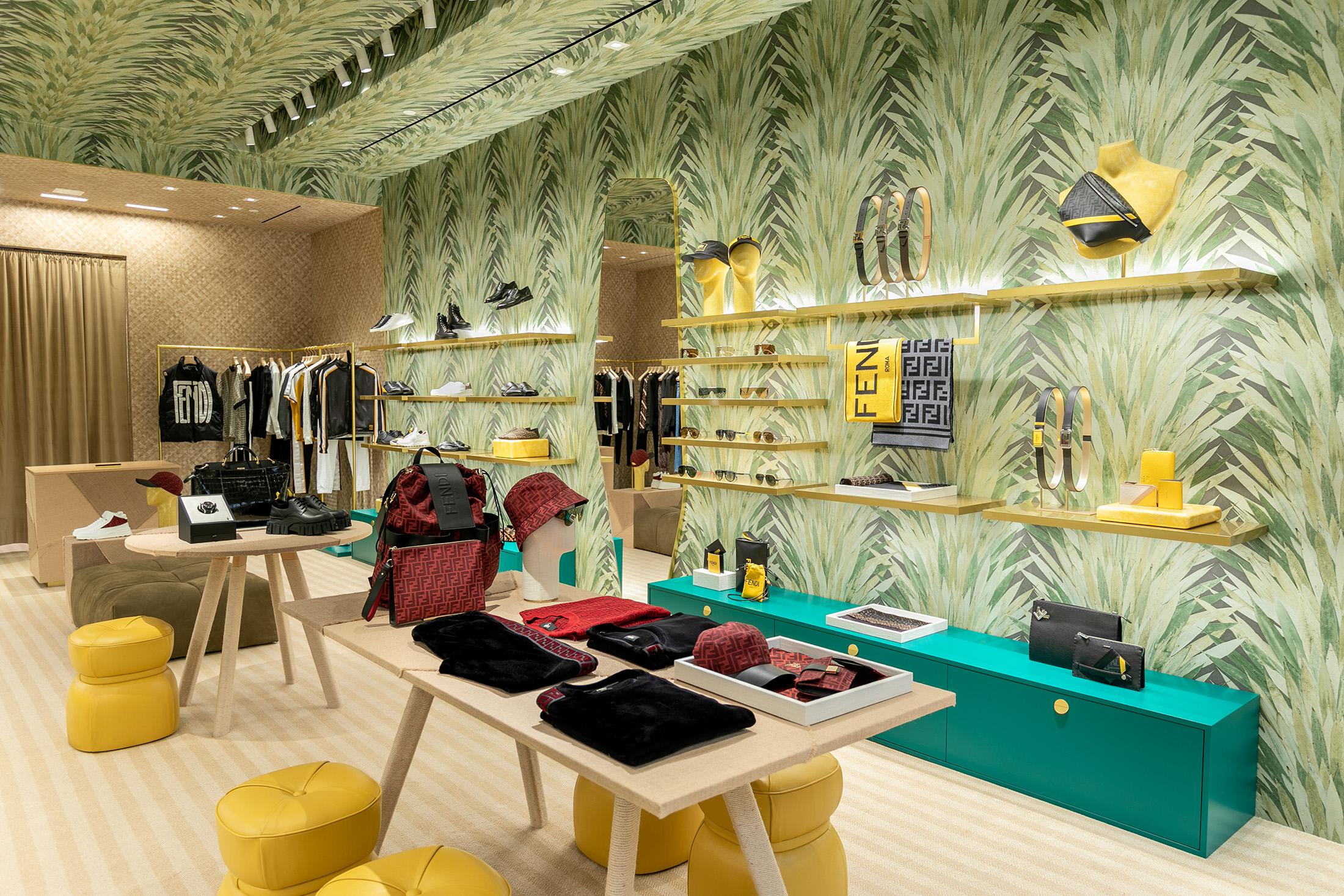 Fendi Opens Menswear Boutique in South Coast Plaza