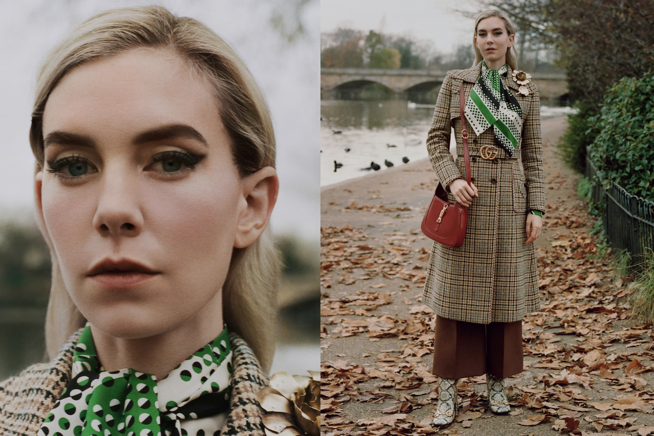 Gucci 'Winter In The Park' Spring 2021 Ad Campaign & Photos