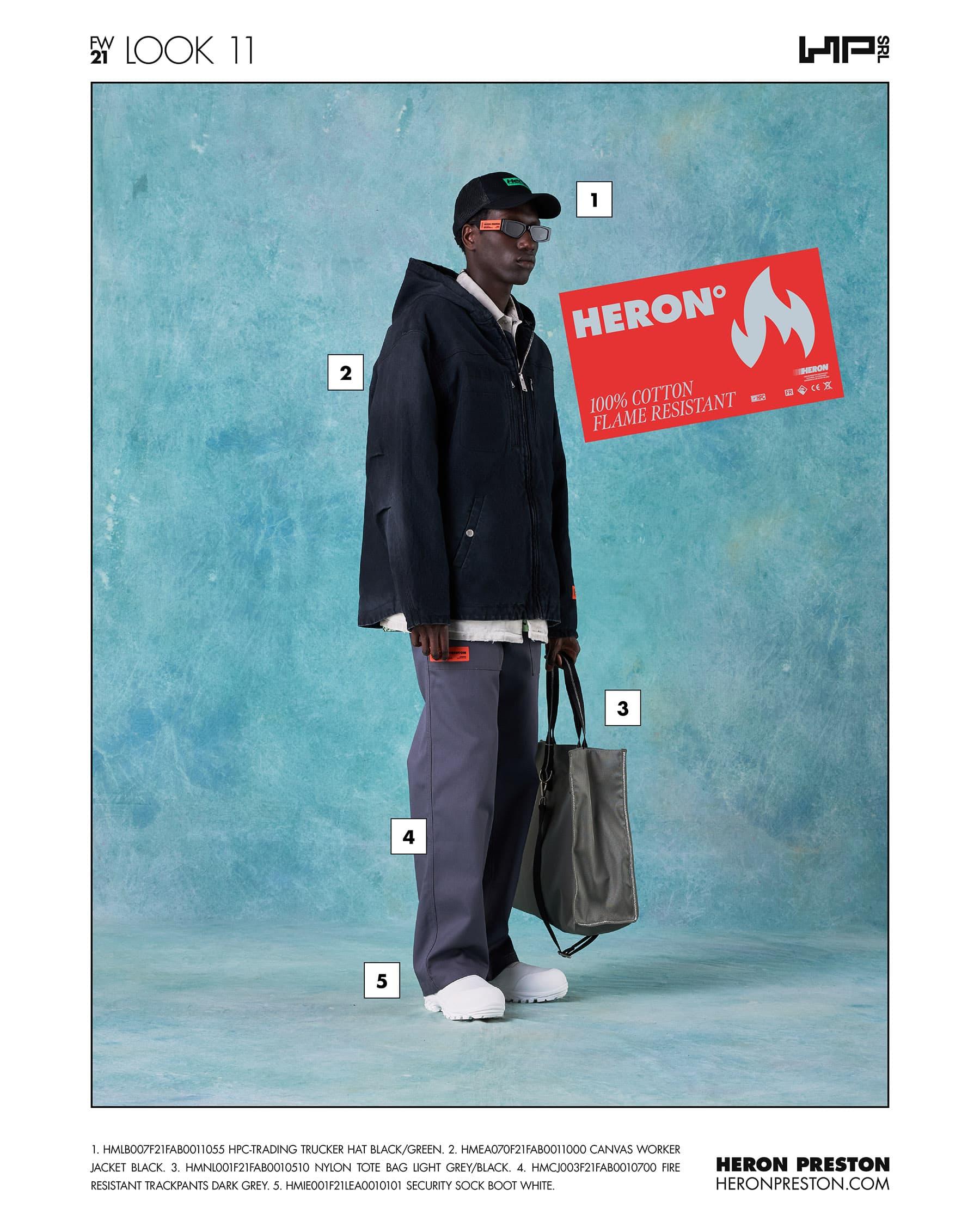 Heron Preston Fall 2021 Fashion Show Photos