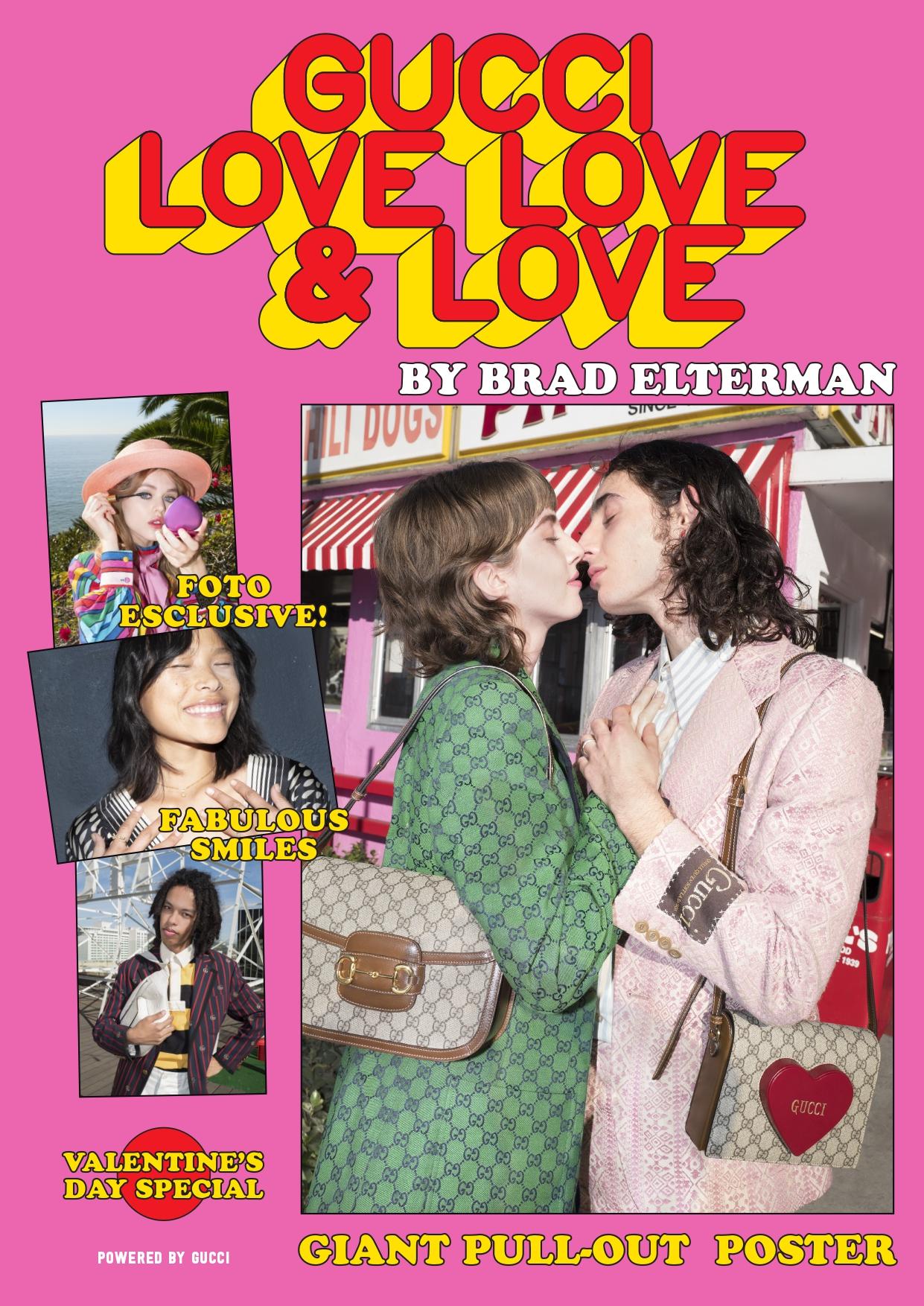 Gucci Love, Love & Love Zine