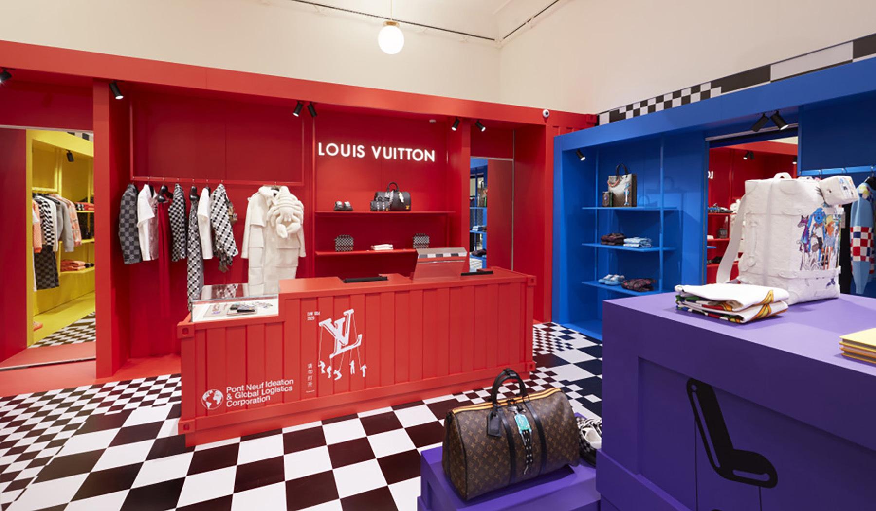 Louis Vuitton's Virtual London Pop-Up