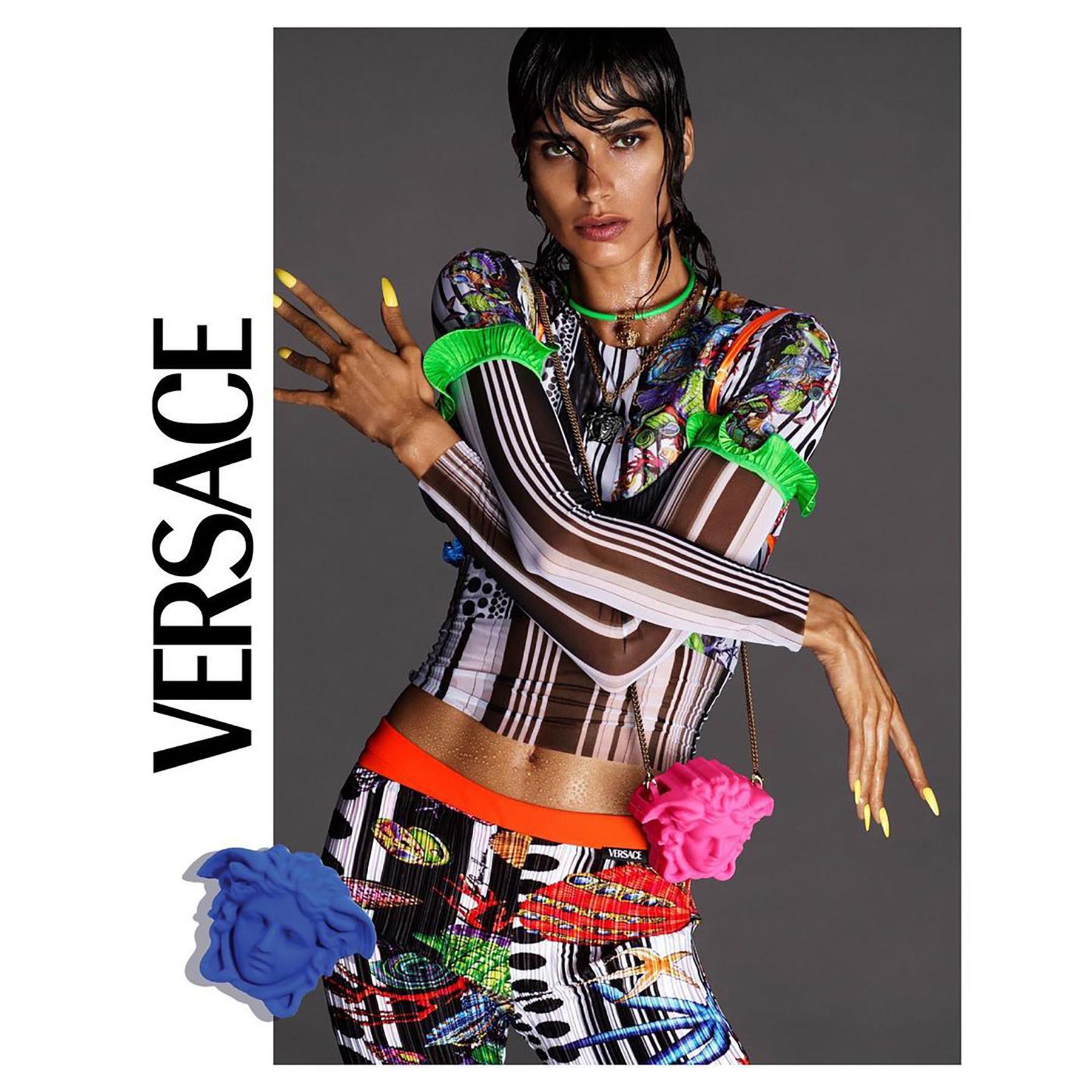 Versace Spring 2021 Ad Campaign Film & Photos