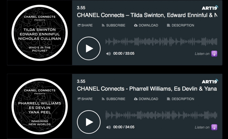 Chanel Launches New Podcast Series