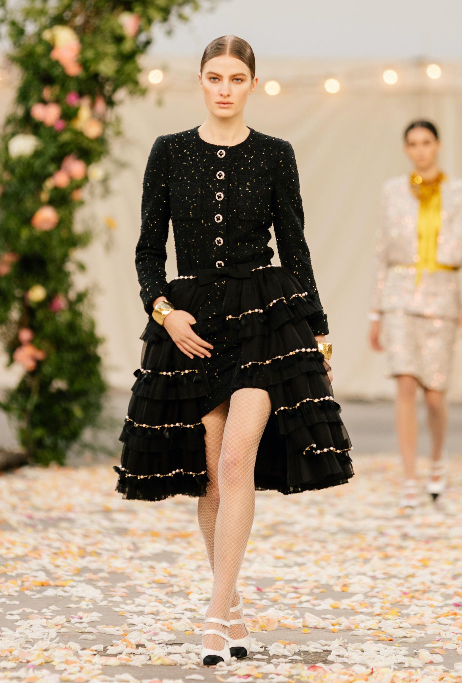Chanel Spring 2021 Couture Fashion Show Photos