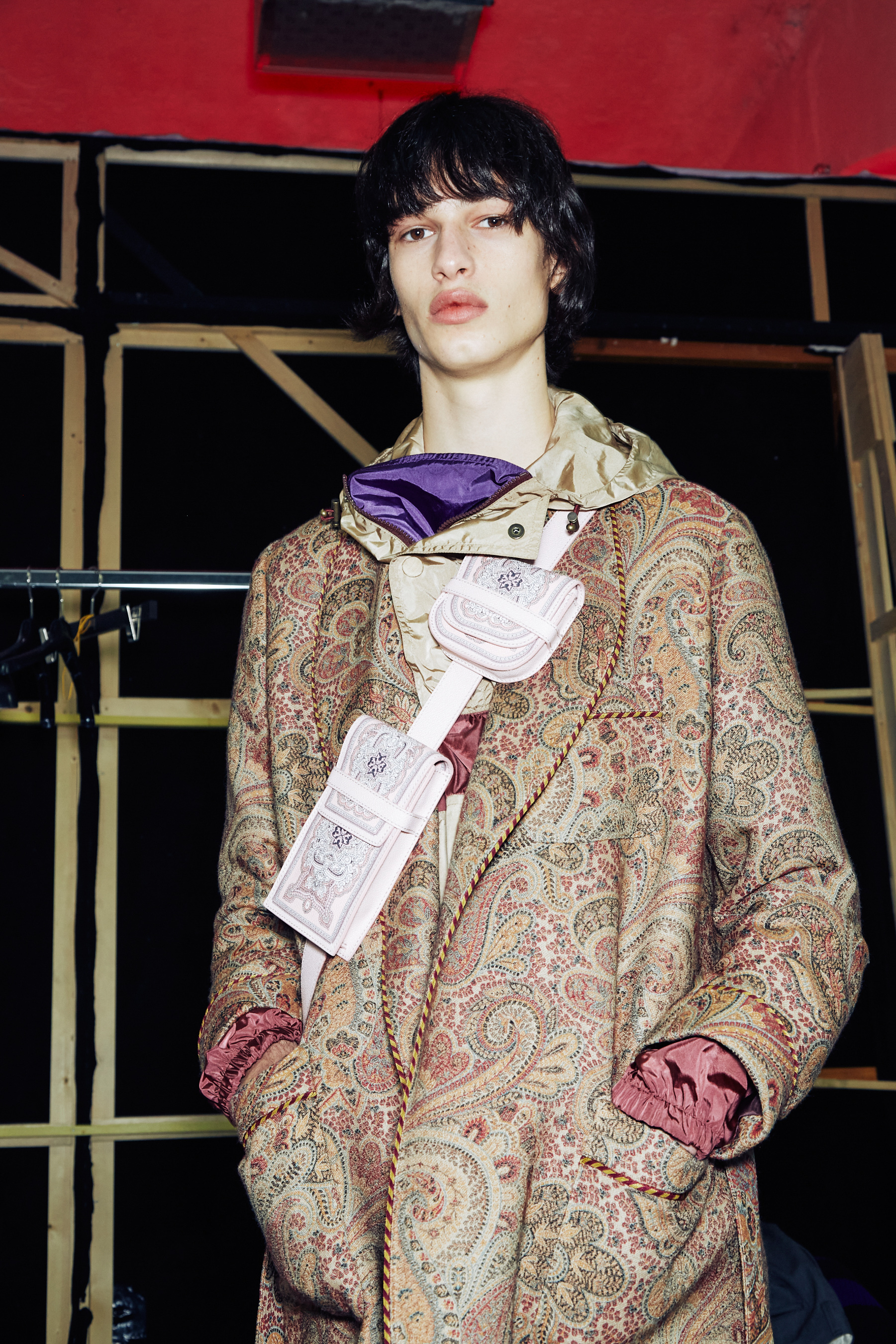 Etro Fall 2021 Men's Fashion Show Photos