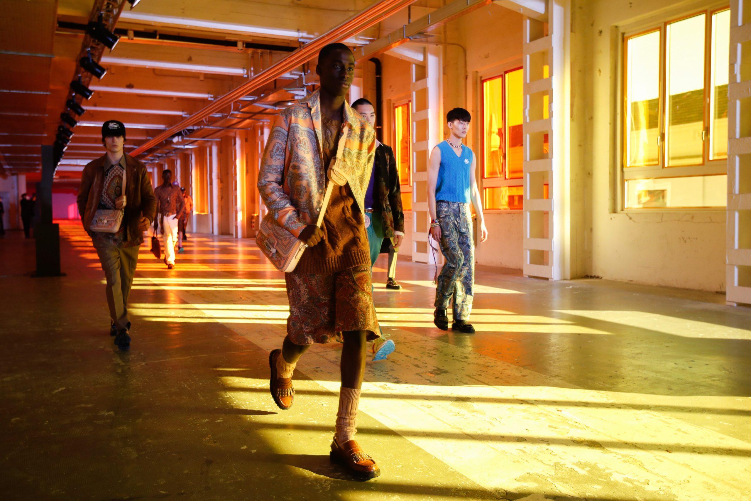 Review of Tokyo James, Etro, MSGM, & Sunnei Men's Fall 2021 Fashion Shows