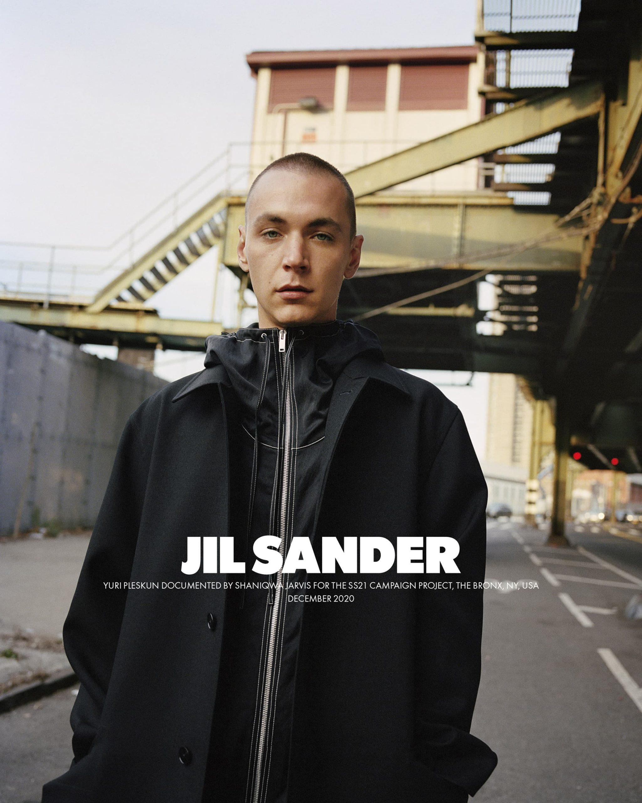 Jil Sander Spring 2021 Ad Campaign Photos
