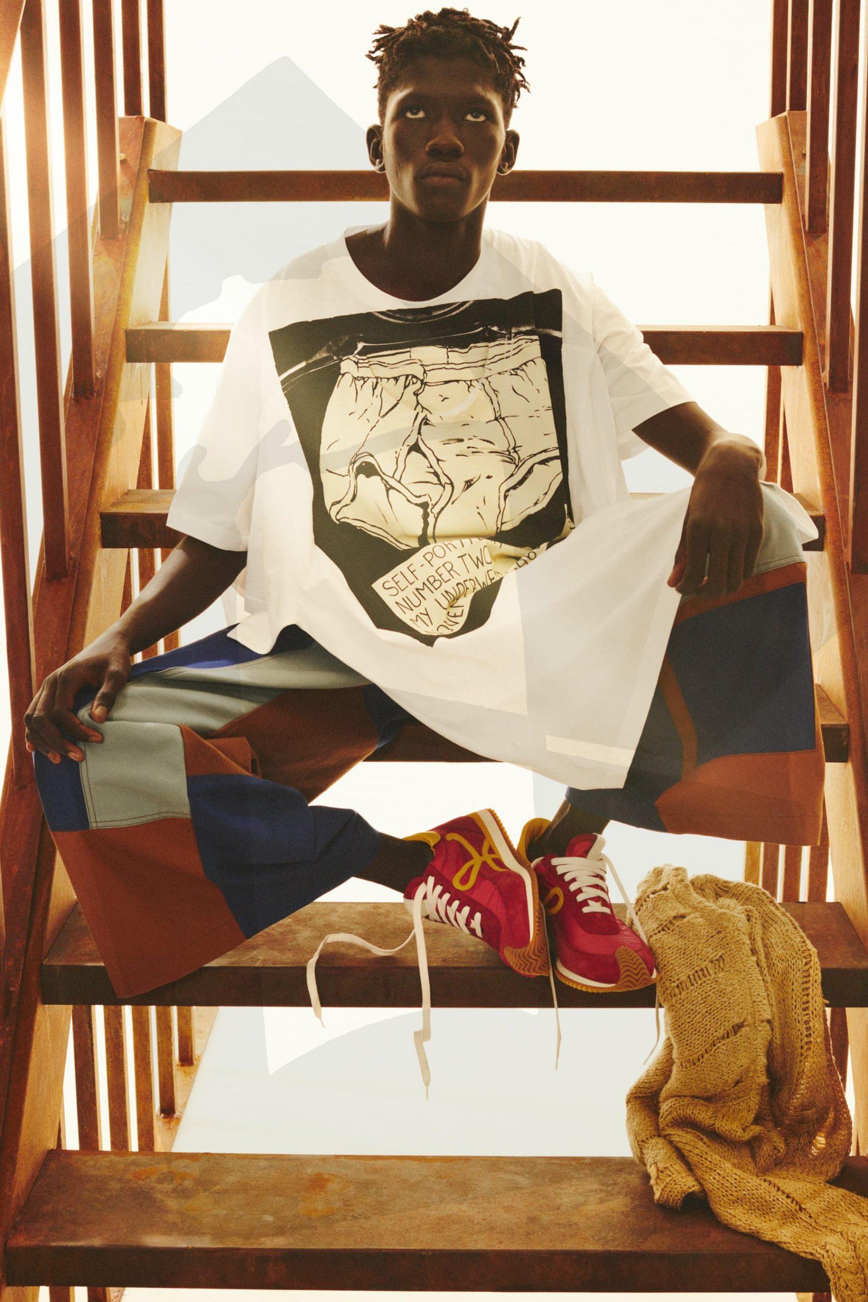 Review of Wales Bonner, Loewe, & Casablanca Paris Fall 2021 Men's Fashion Shows