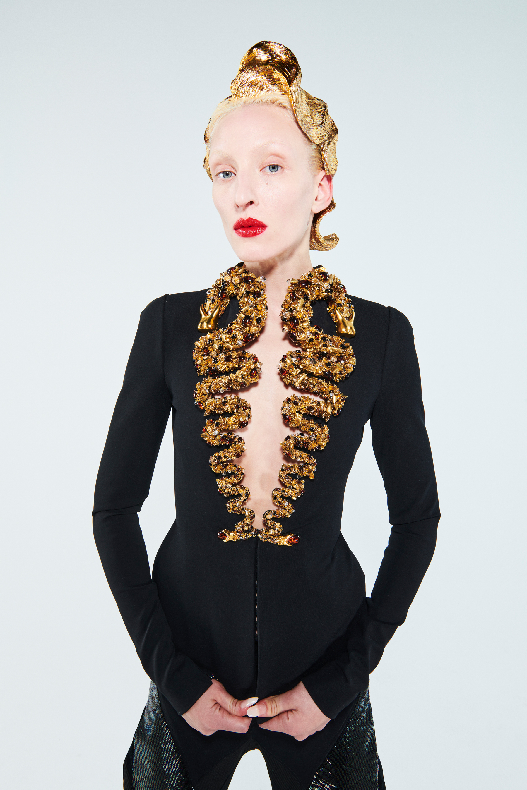 Schiaparelli Spring 2021 Couture Fashion Show Photos