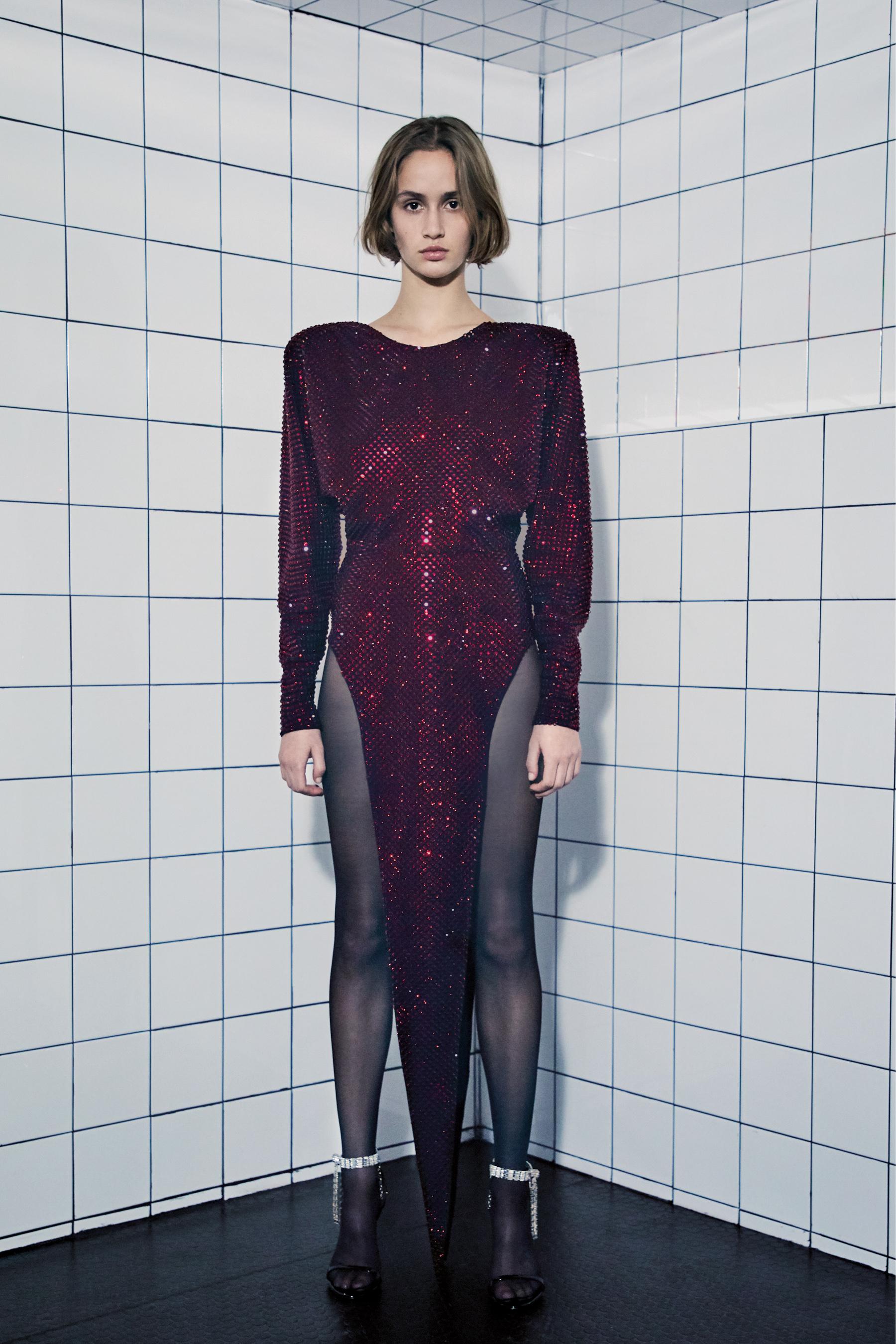 Alexandre Vauthier Spring 2021 Couture Fashion Show Photos