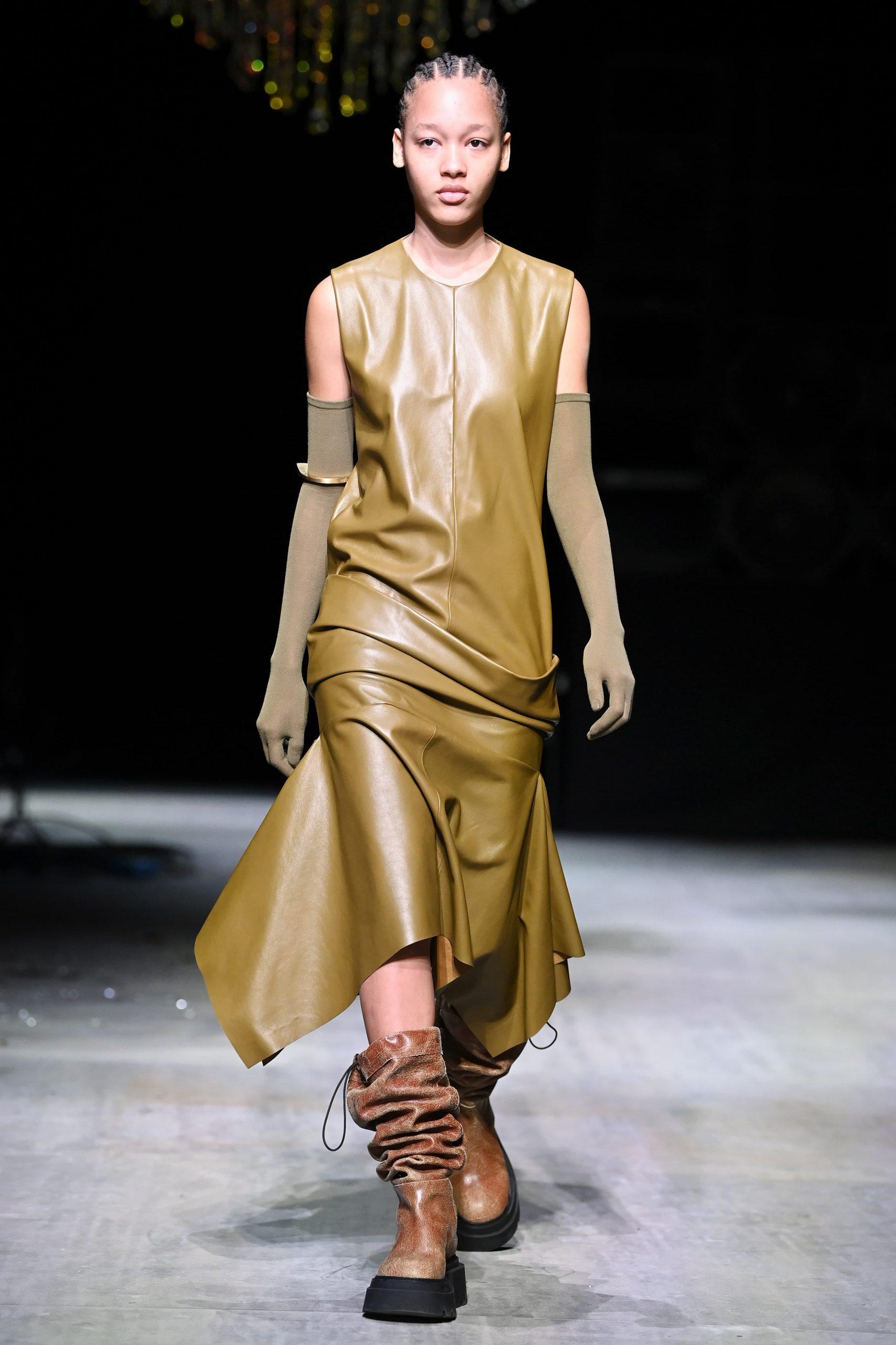 Giorgio Armani, Salvatore Ferragamo, Sportmax, and Ermanno Scervino Fall 2021 Fashion Show Review