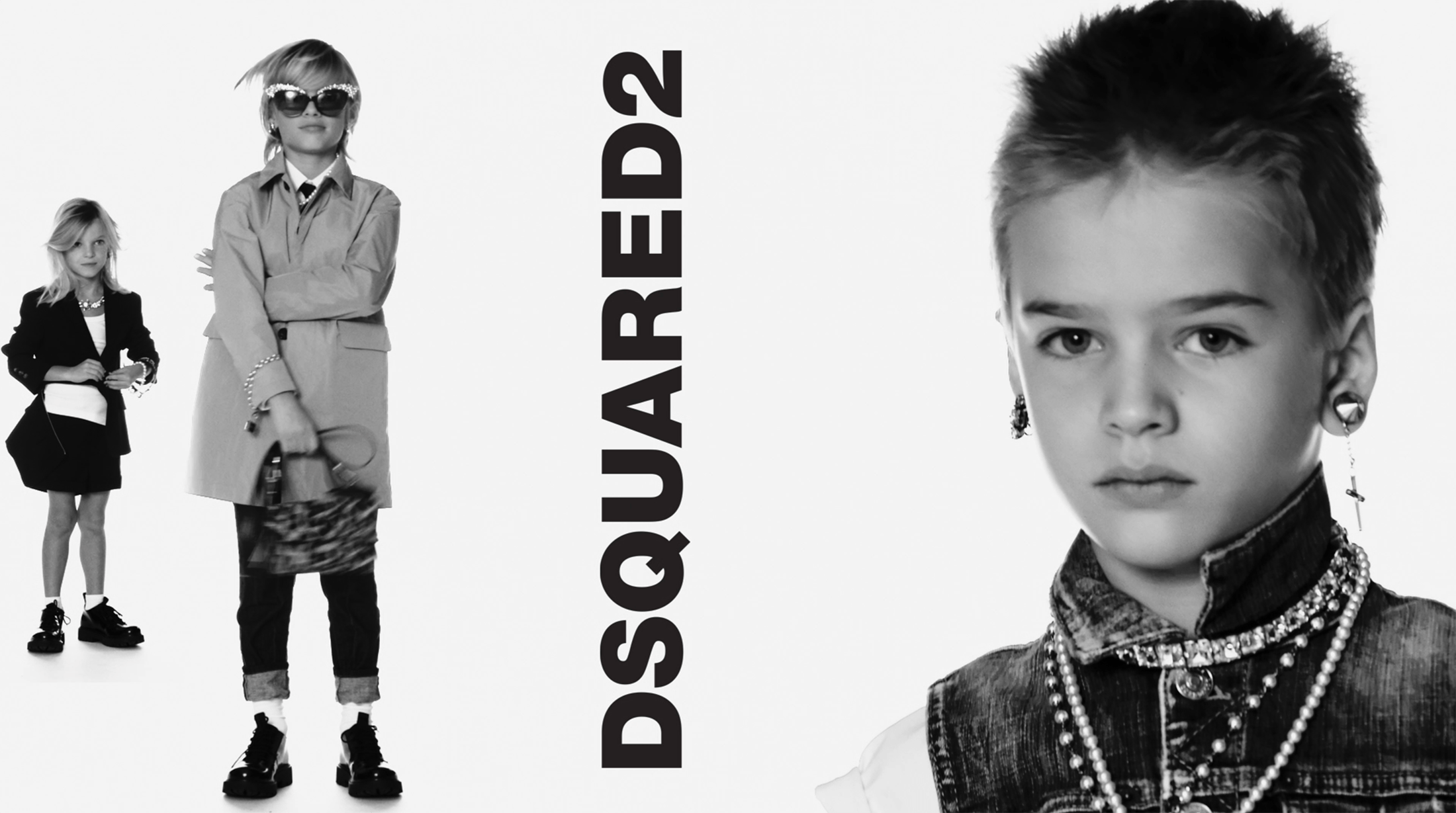 Dsquared2 Spring 2021 Kid's Ad Campaign Film & Photos