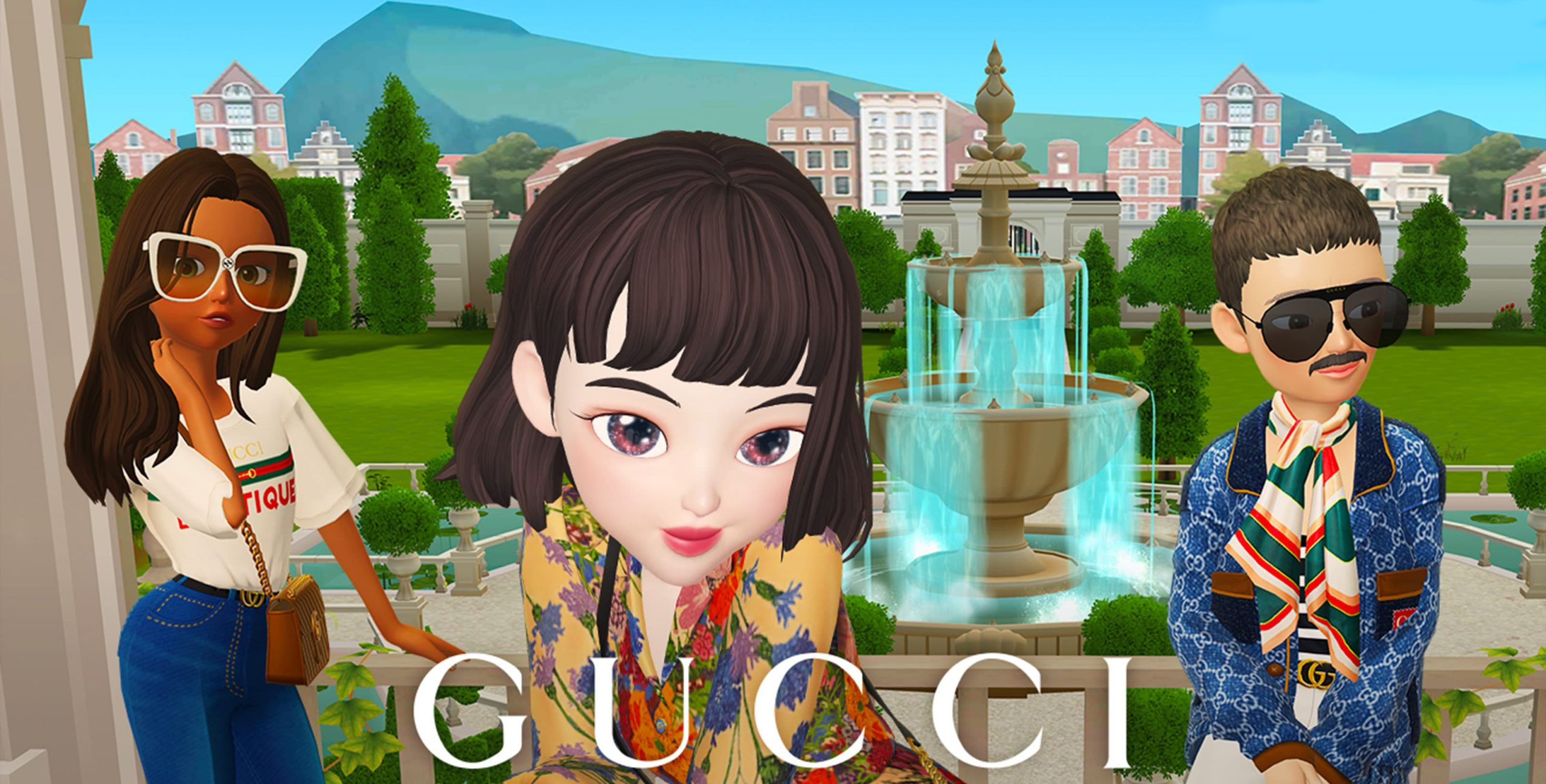 Gucci Partners With Zepeto App
