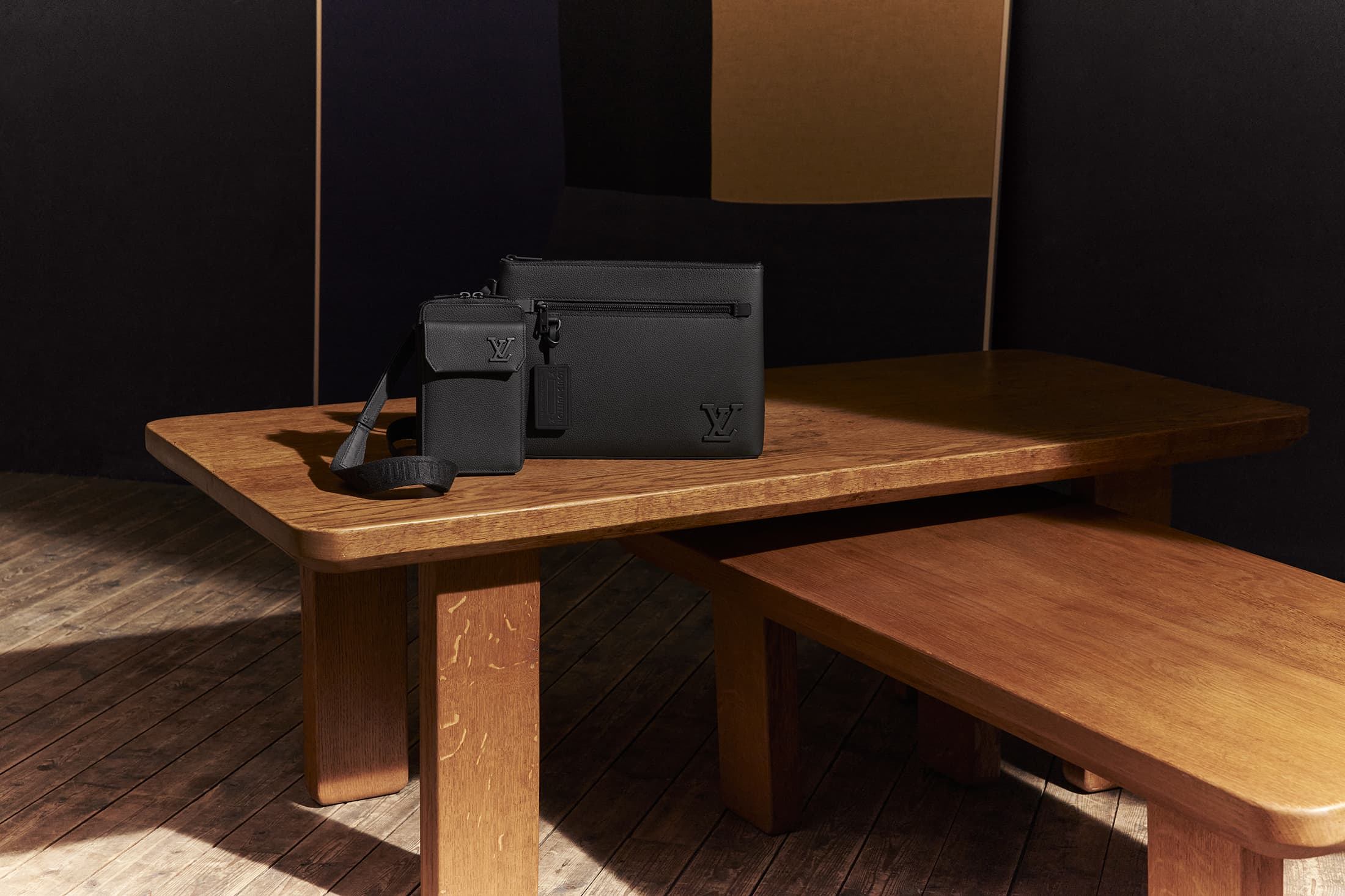 Louis Vuitton Aerogram Men's Leather Goods Collection