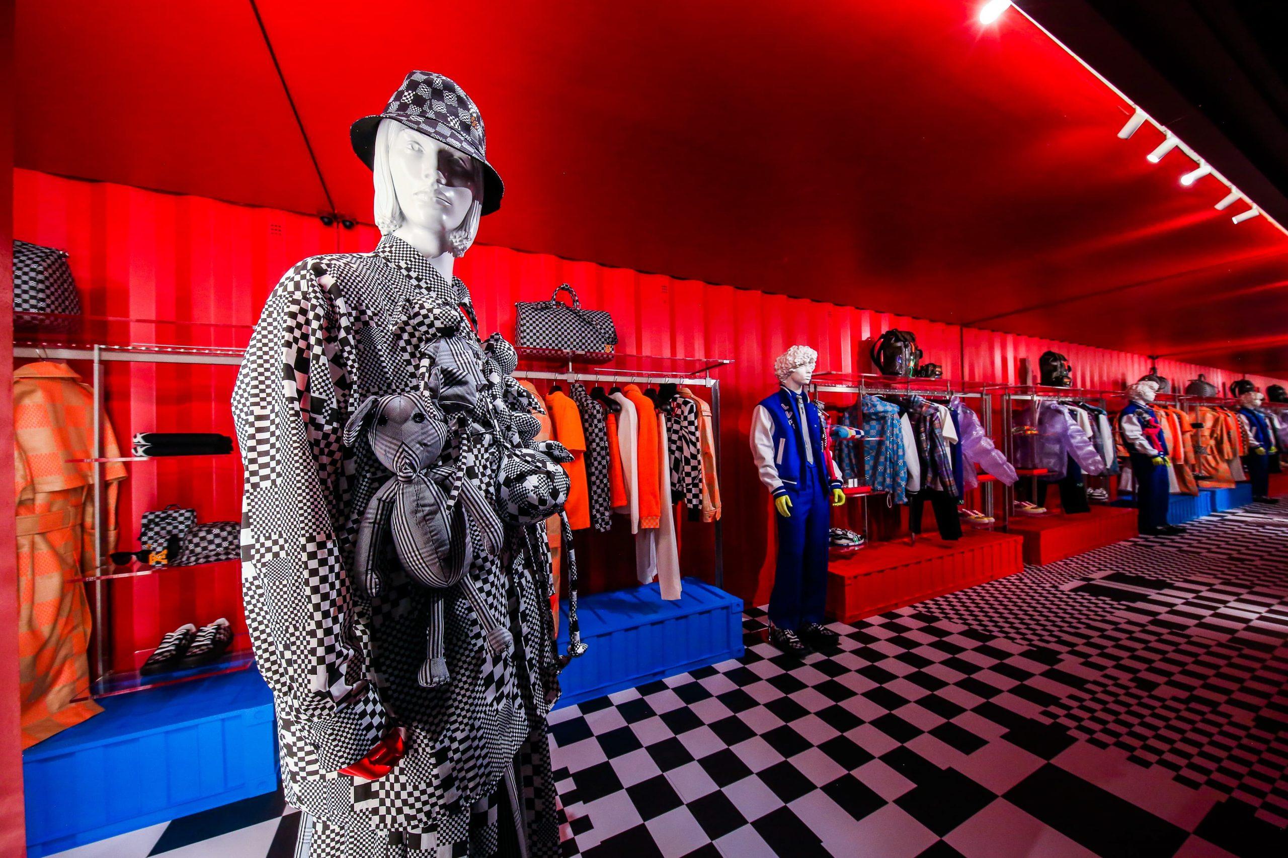 Louis Vuitton Opens Men's Pop-up on Rodeo Drive