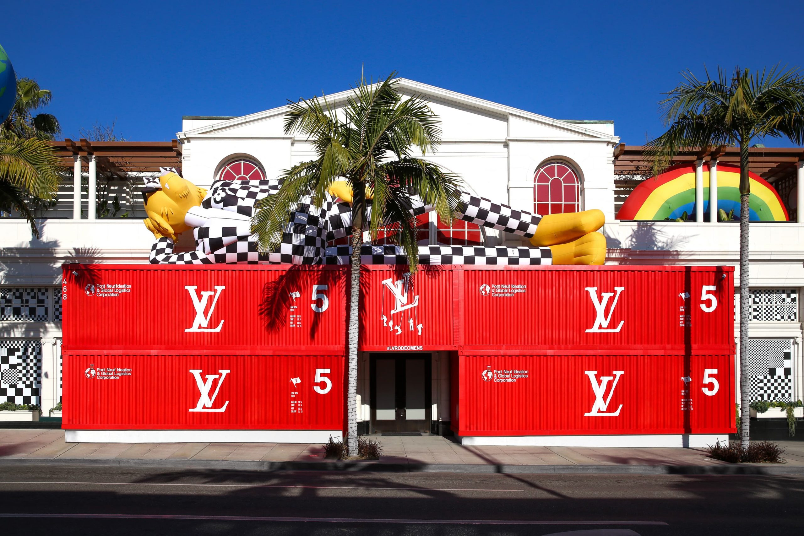 Louis Vuitton Opens Men S Pop Up On Rodeo Drive The Impression