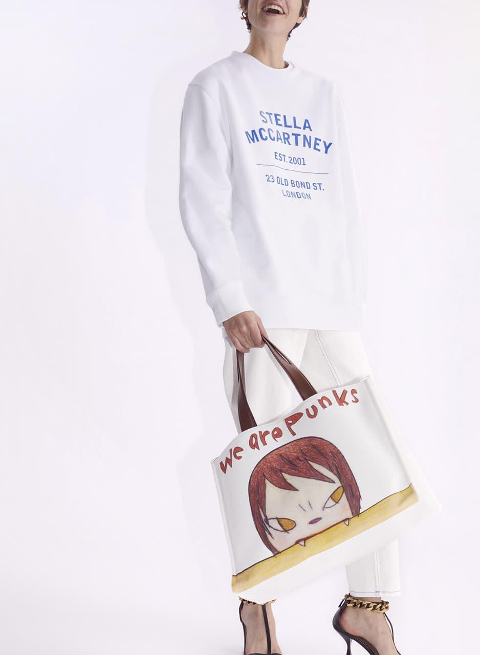 Stella McCartney Yoshitomo Nara Collaboration