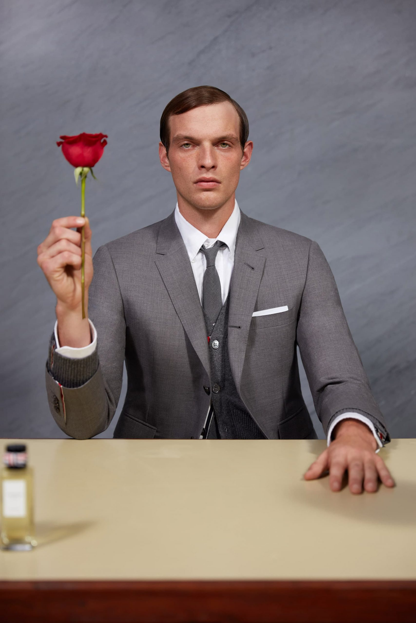 Thom Browne Fragrances Valentine's Day 2021 Campaign Photos