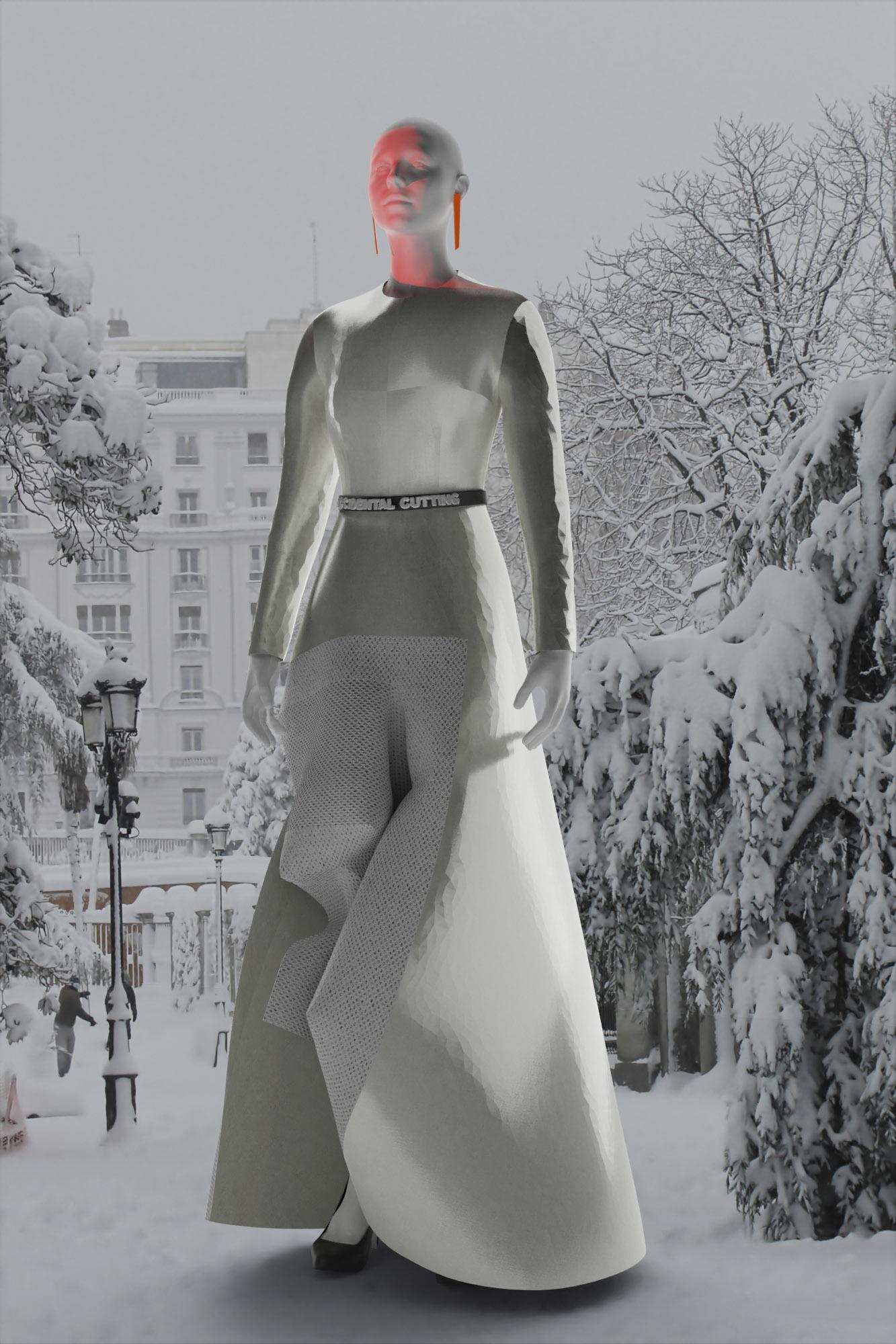 Accidental Cutting Fall 2021 Fashion Show
