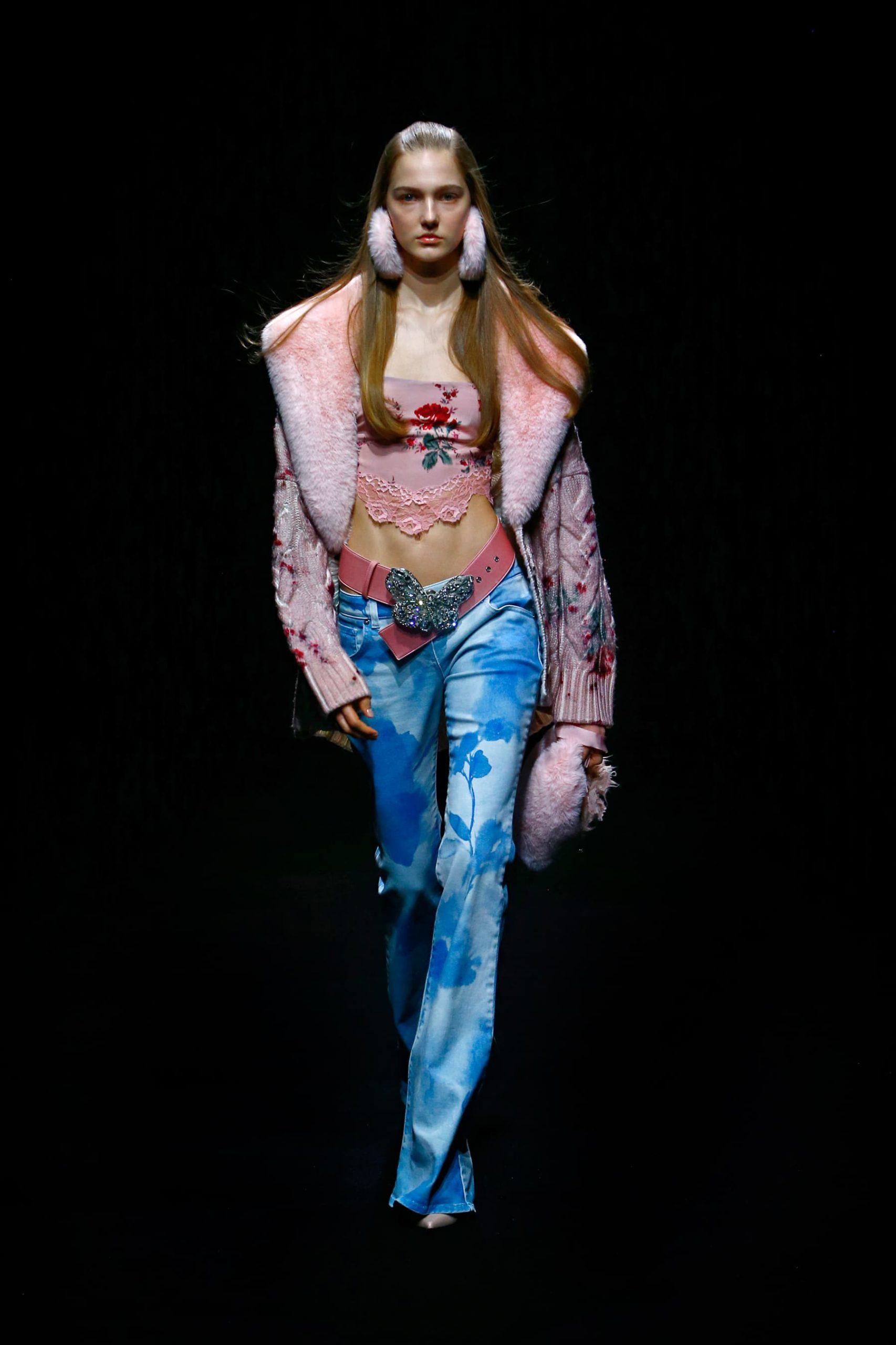 Emporio Armani, Moschino, GCDS & Blumarine Fall 2021 Fashion Show Review
