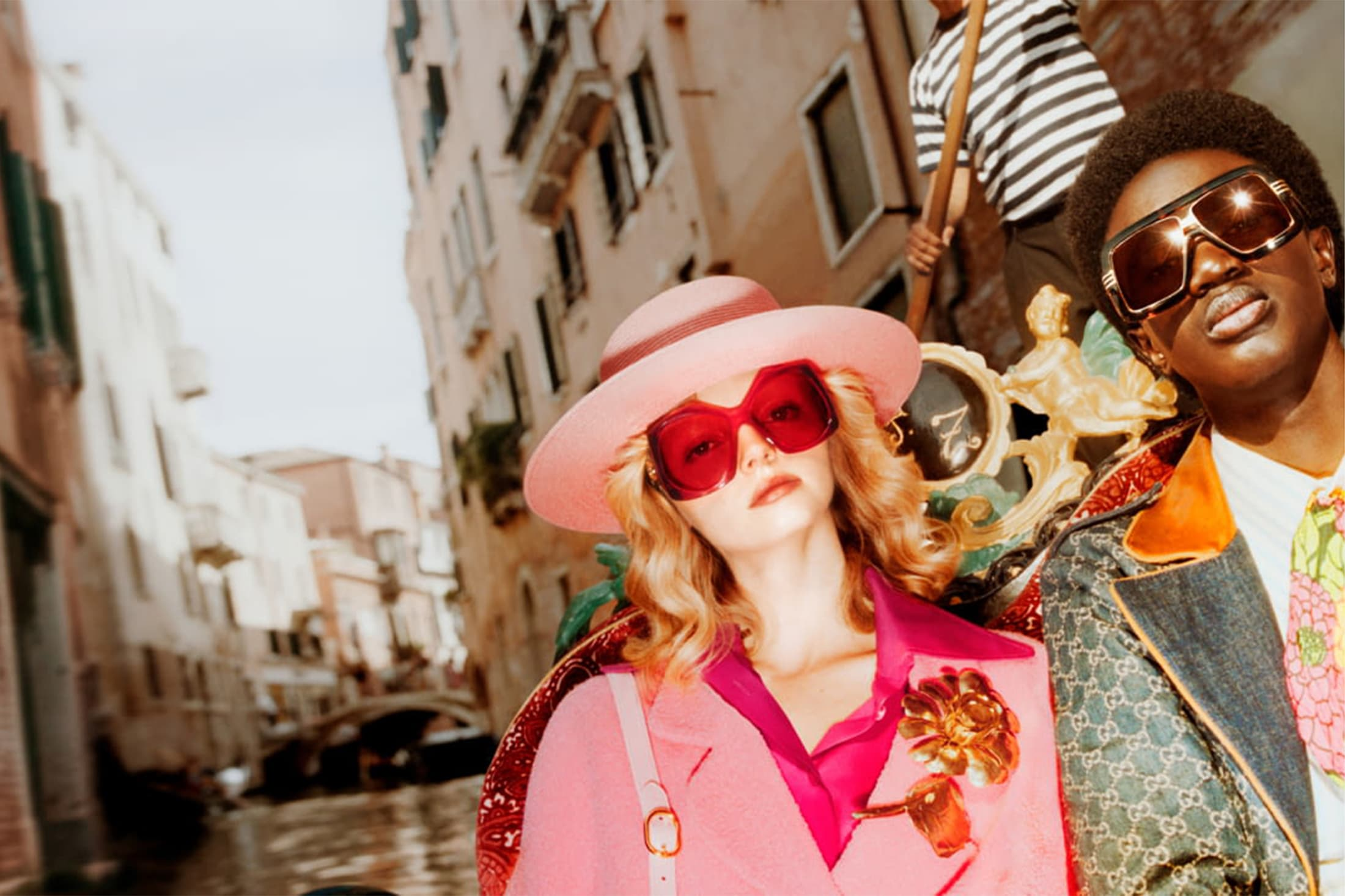 Gucci Eyewear Spring 2021 Ad Campaign Film & Photos