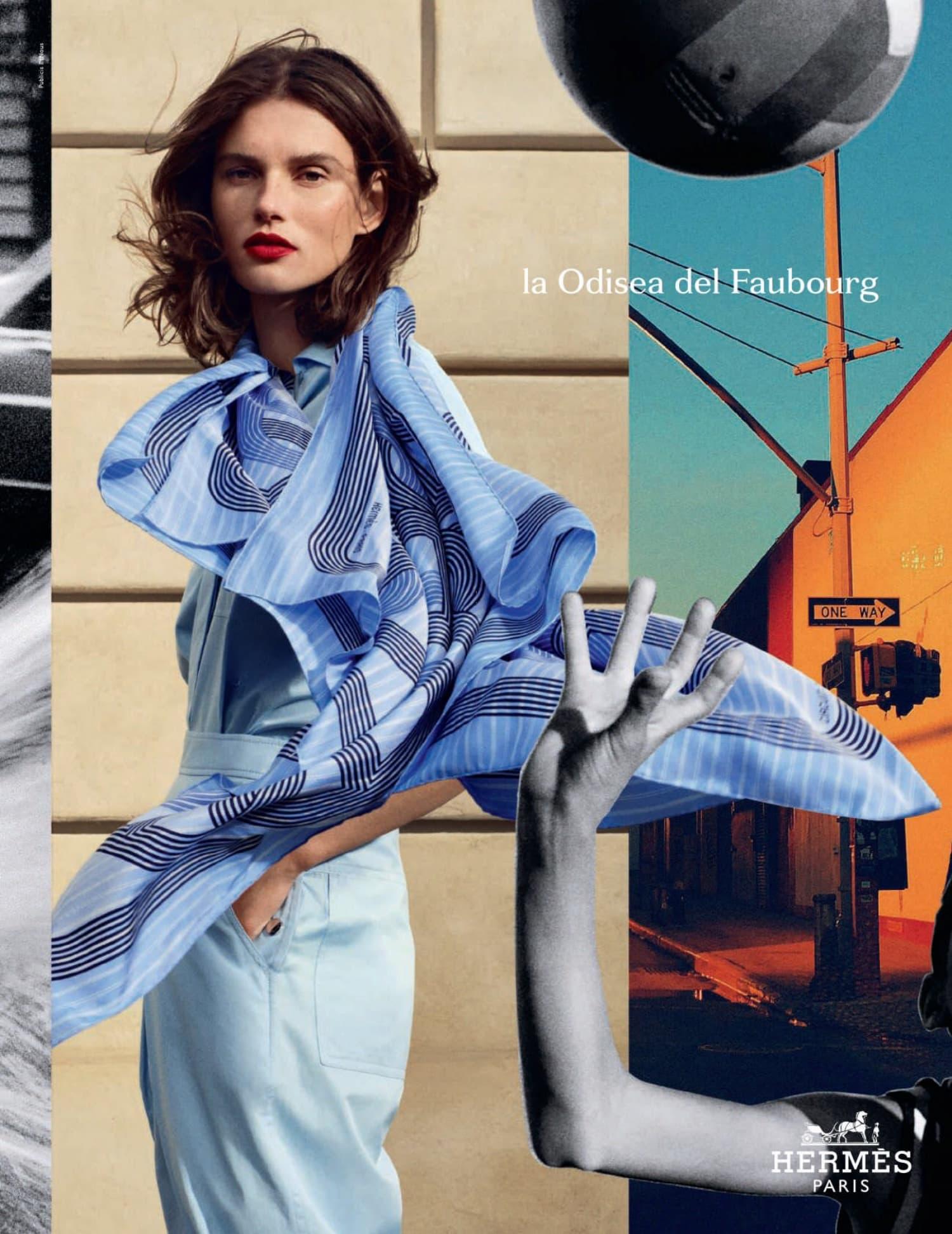 Hermès Spring 2021 Ad Campaign Photos