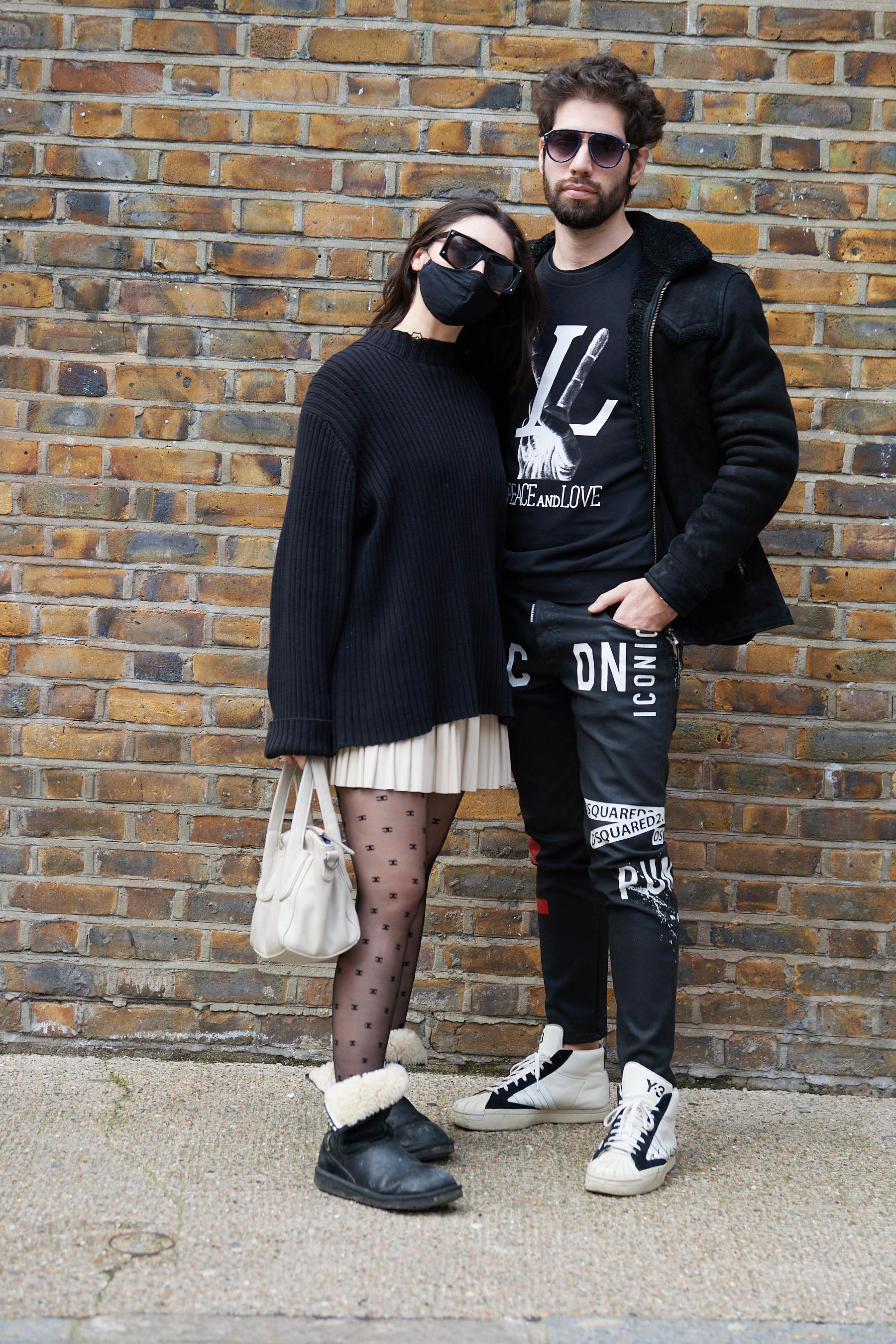 London Fashion Week Fall 2021 Street Style Photos