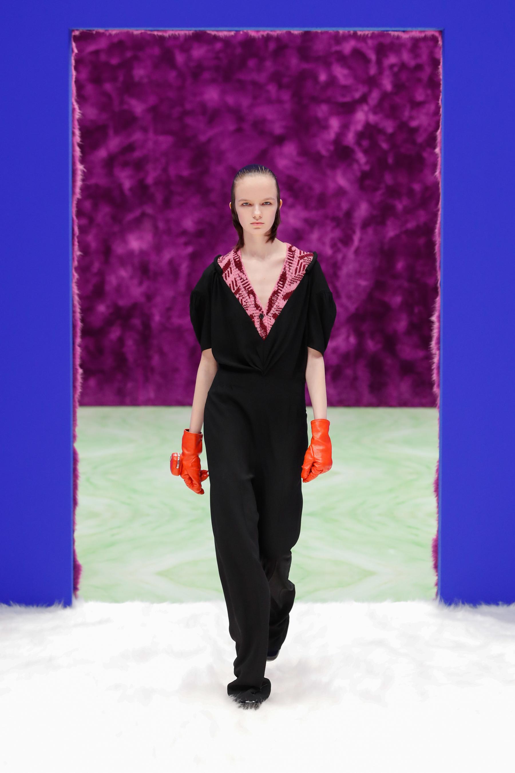 Prada Fall 2021 Fashion Show