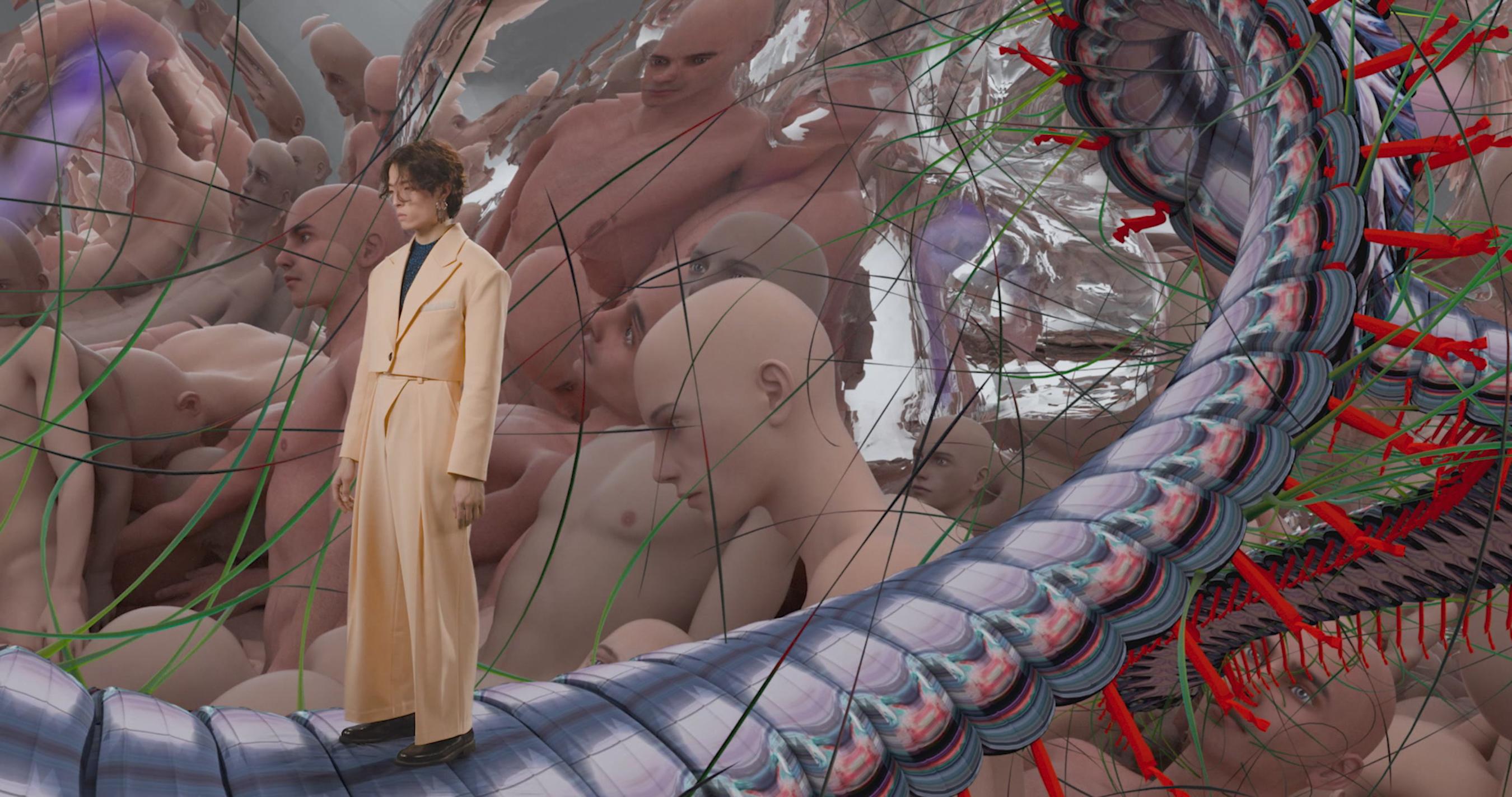 Ray Chu Fall 2021 Fashion Show