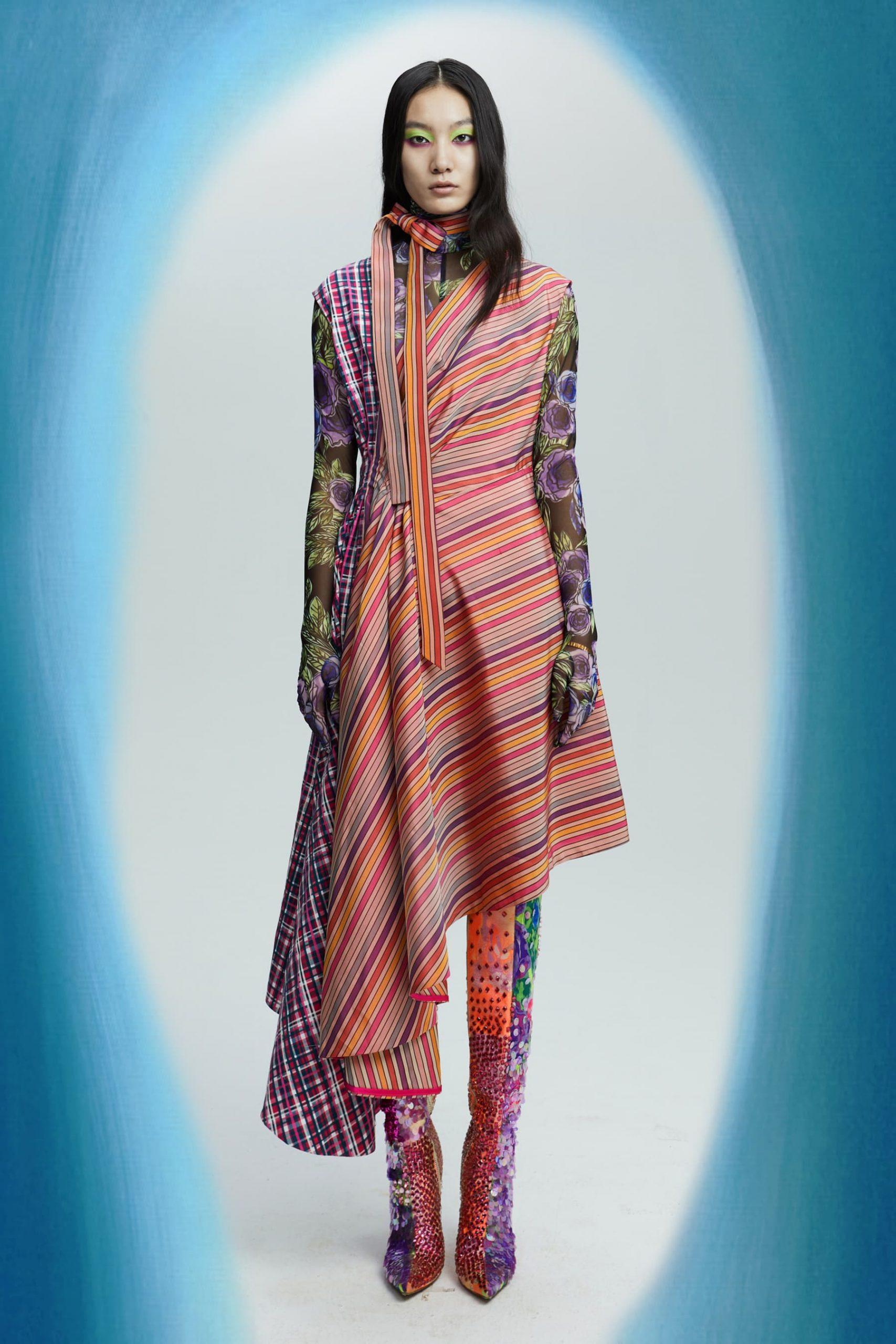 Shuting Qiu, Dsquared2, MM6 Maison Margiela, Emilio Pucci, & Philipp Plein Fall 2021 Fashion Show Review