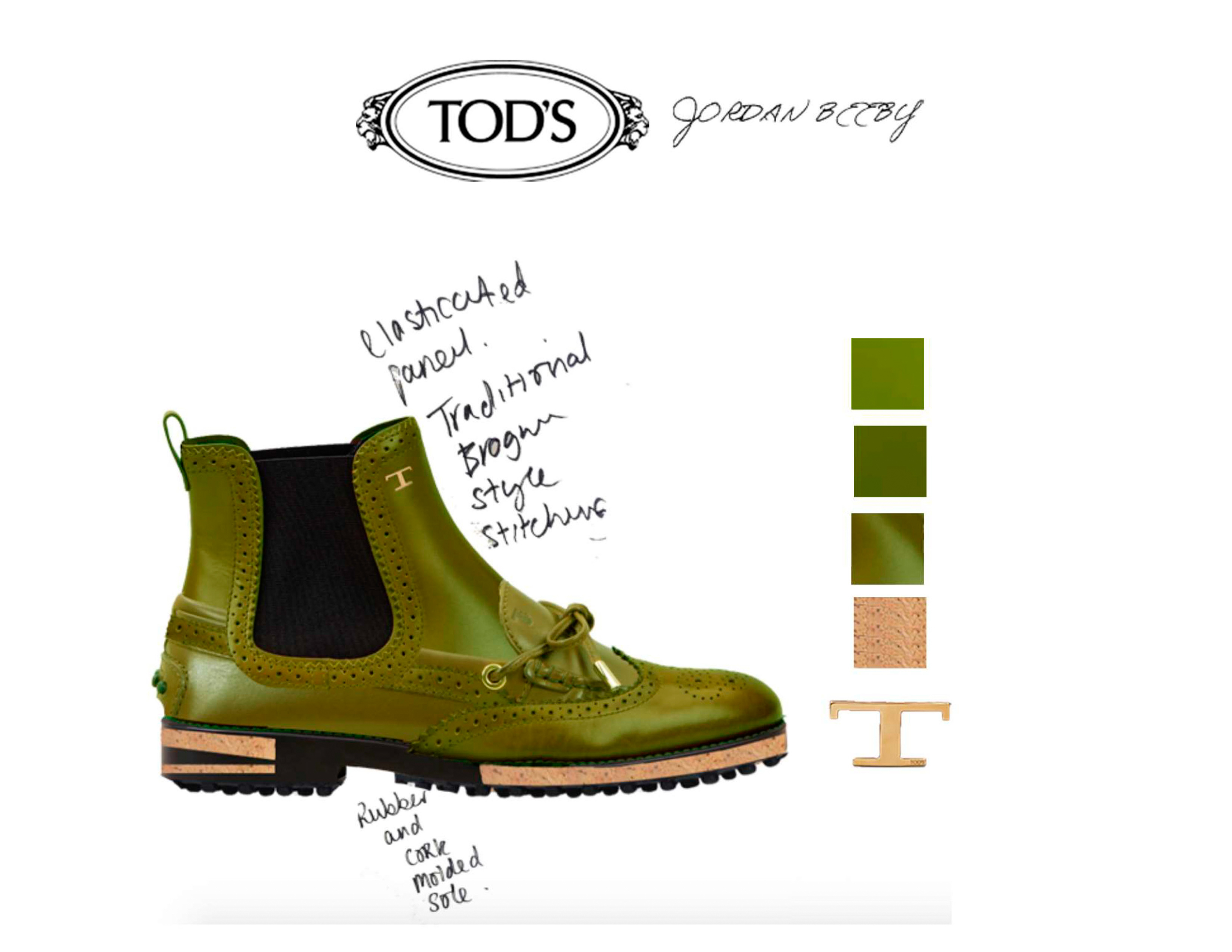 Tod's And Central Saint Martin Fall 2021 Fashion Show