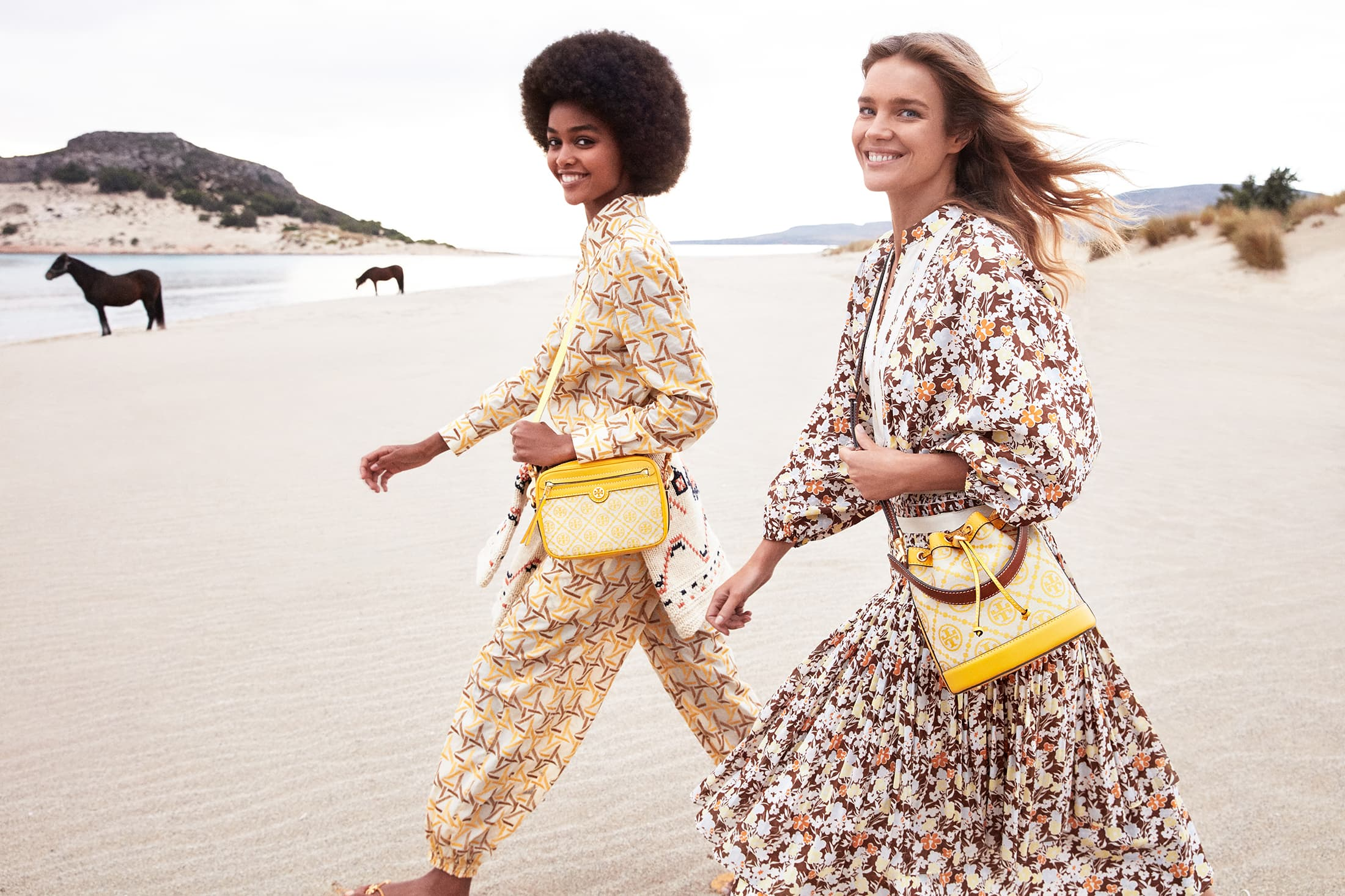Tory Burch Spring 2021 Ad Campaign Film & Photos