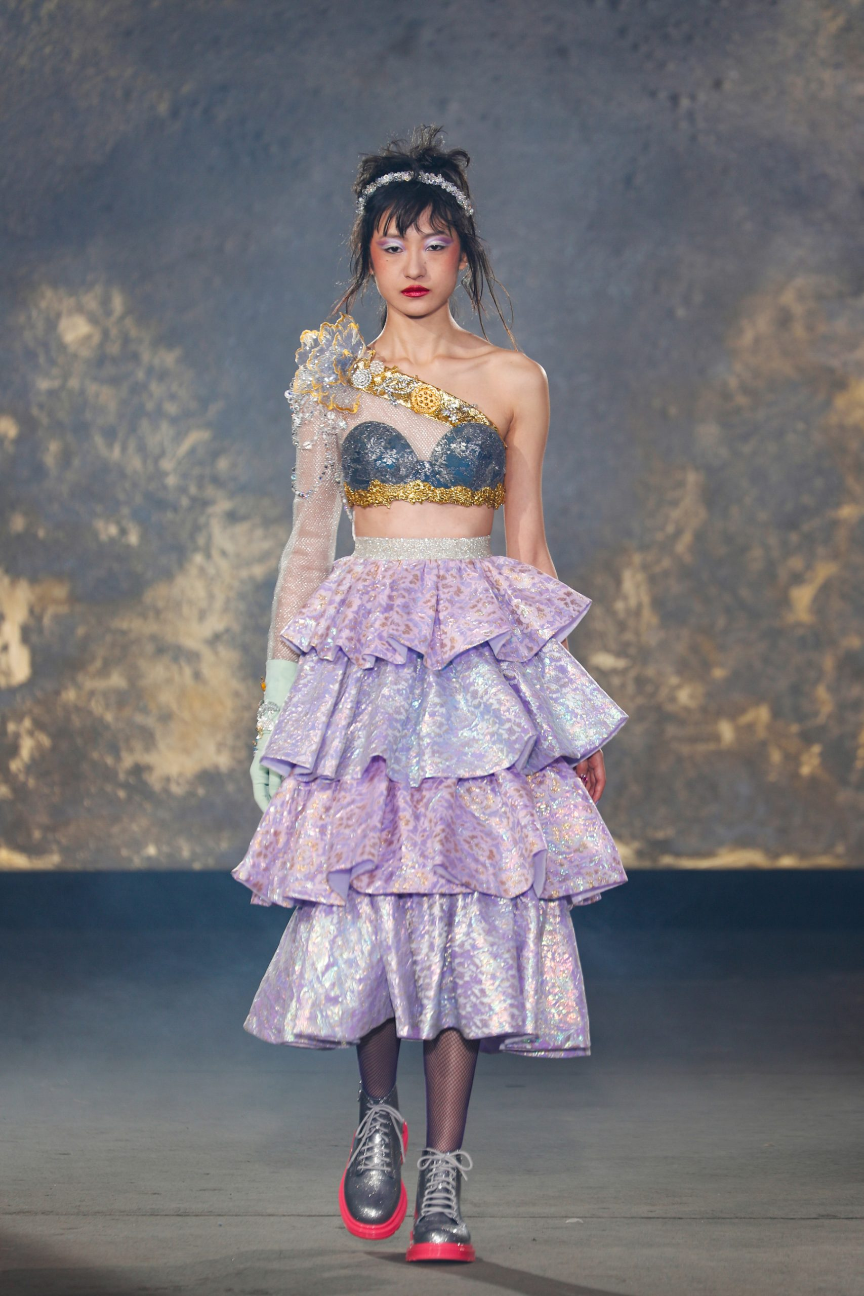 Ruffles Spring 2021 Couture Trend