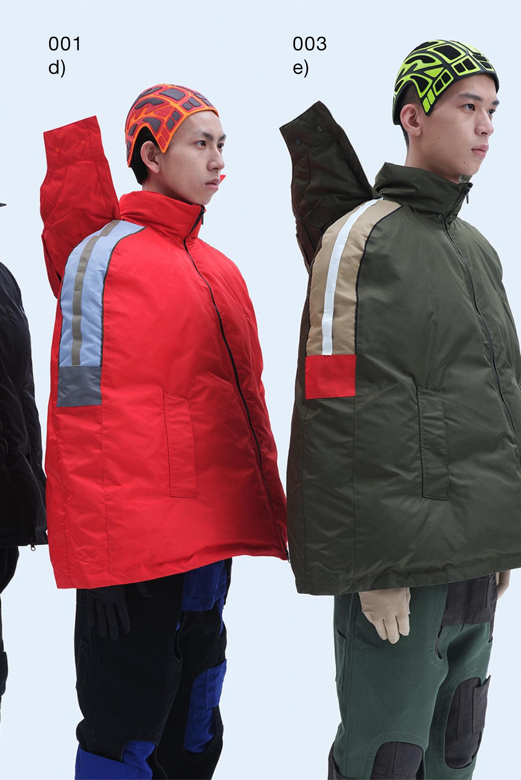 Xander Zhou Fall 2021 Men's Fashion Show