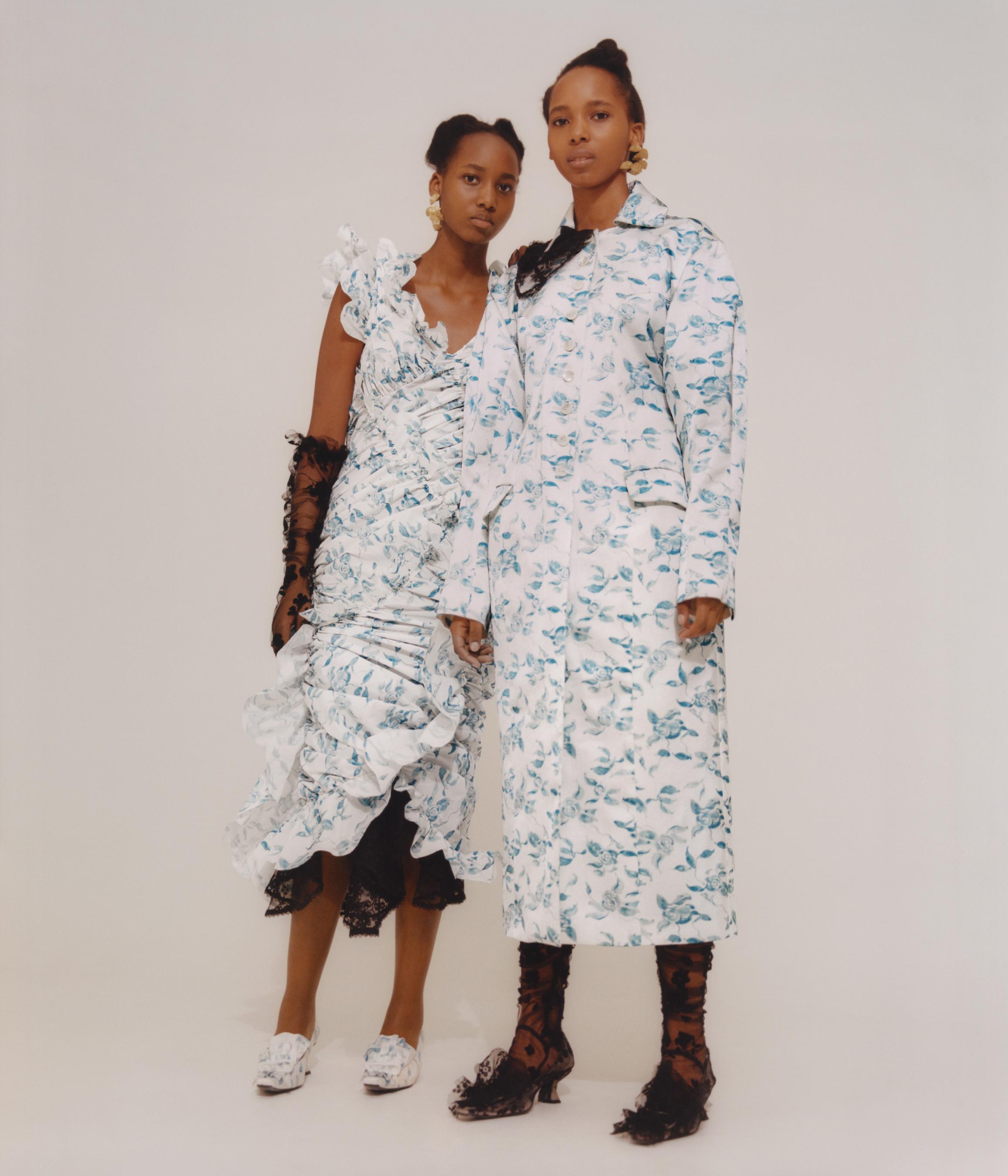 Yuhan Wang Fall 2021 Fashion Show