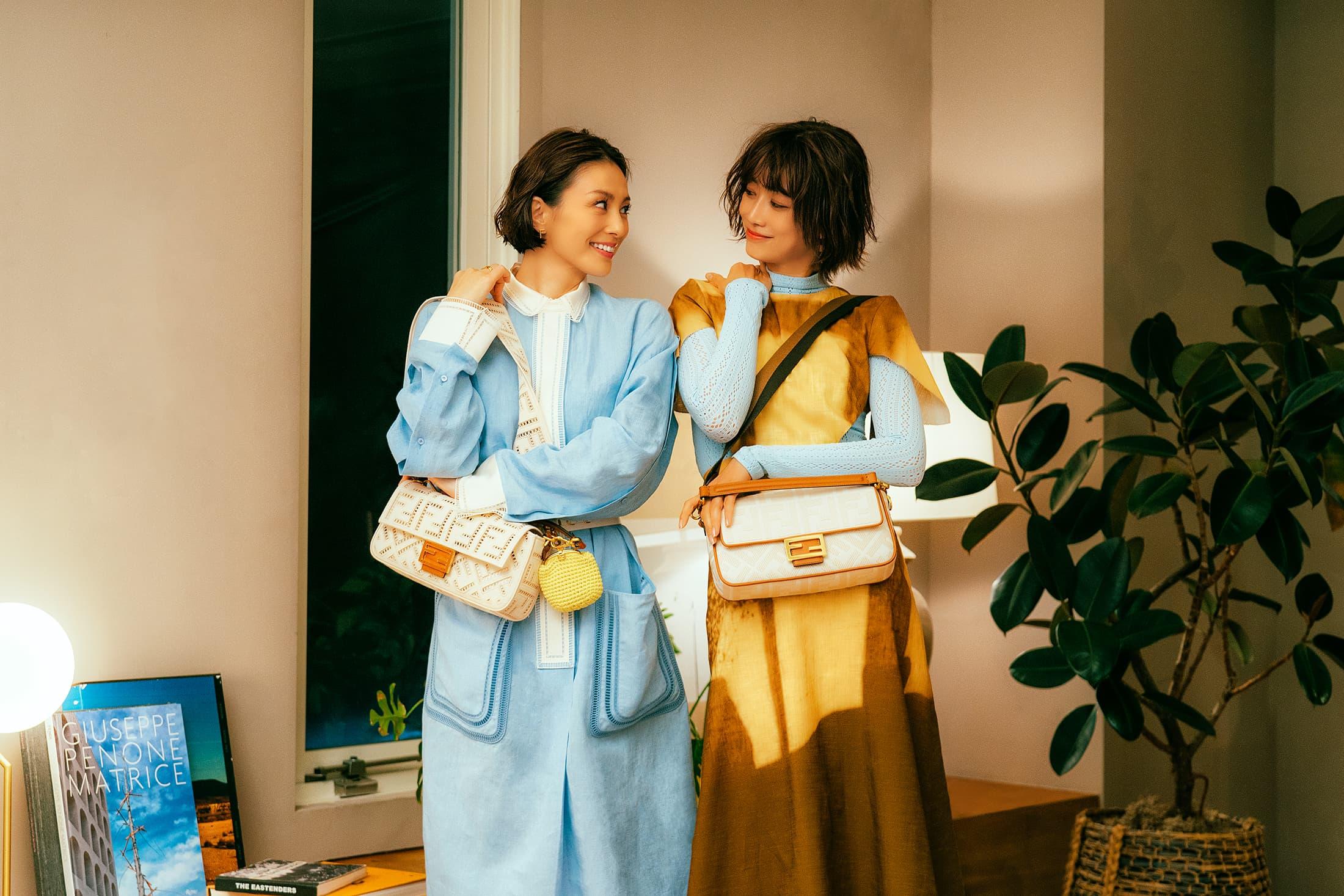 Fendi #BaguetteFriendsForever Spring 2021 Ad Campaign Film & Photos