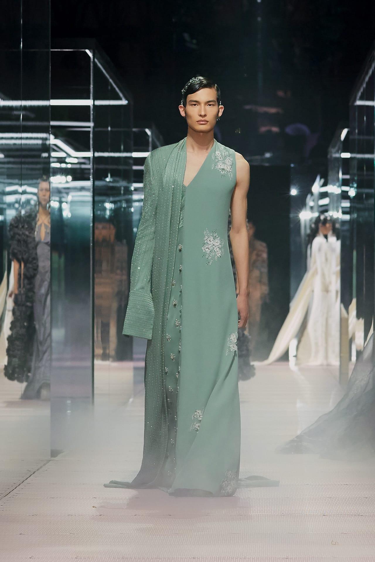 Fendi Shanghai Couture Spring 2021 Couture Fashion Show Photos