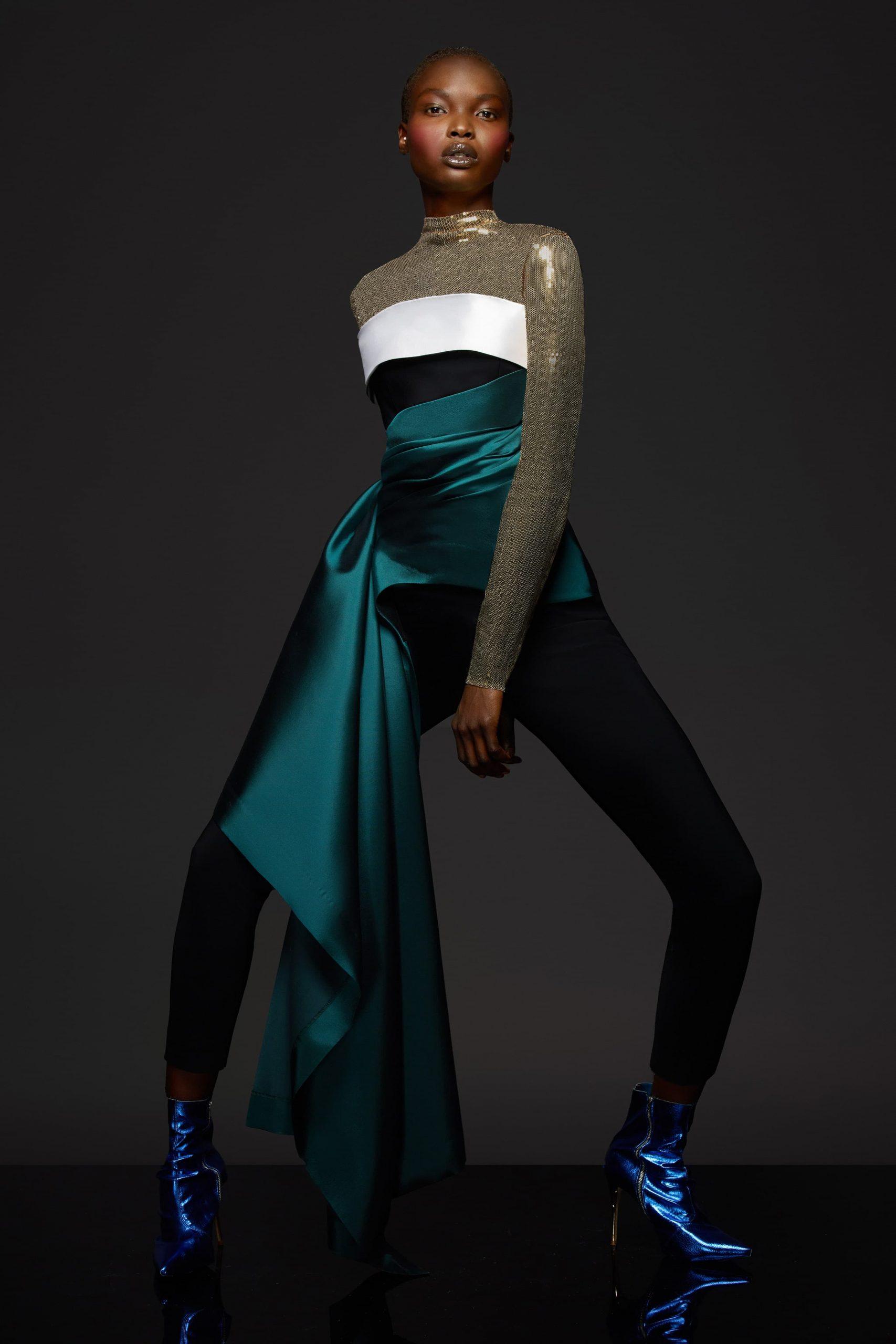 Greta Constantine Fall 2021 Fashion Show Photos