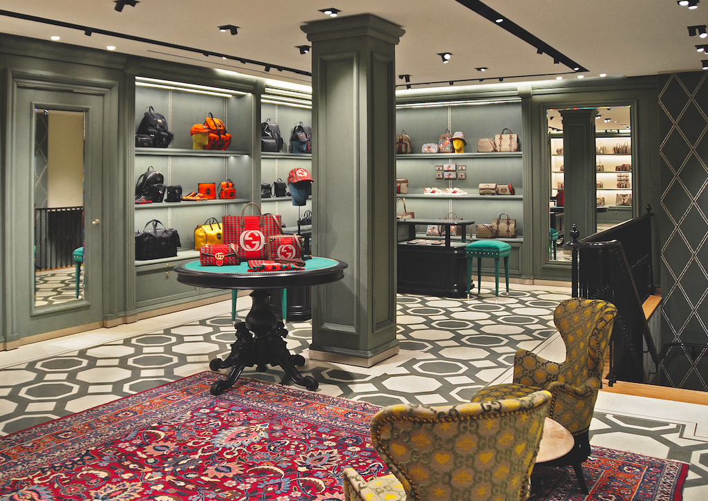 Gucci Opens New Doors In Amsterdam