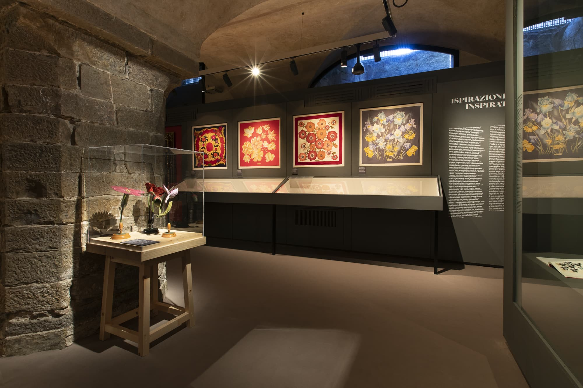 Ferragamo Presents Its Silk Exhibition At The Museo Salvatore In Florence
