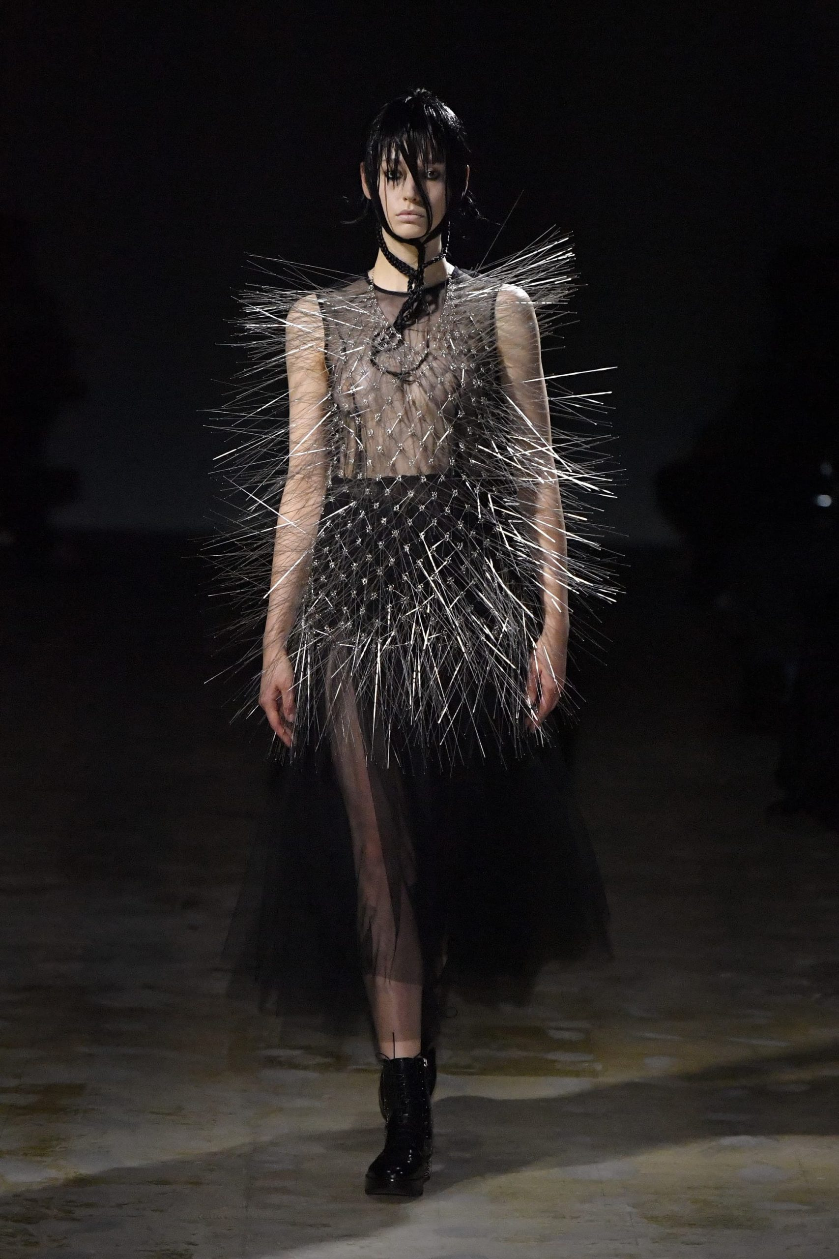 Noir Kei Ninomiya Fall 2021 Fashion Show Review