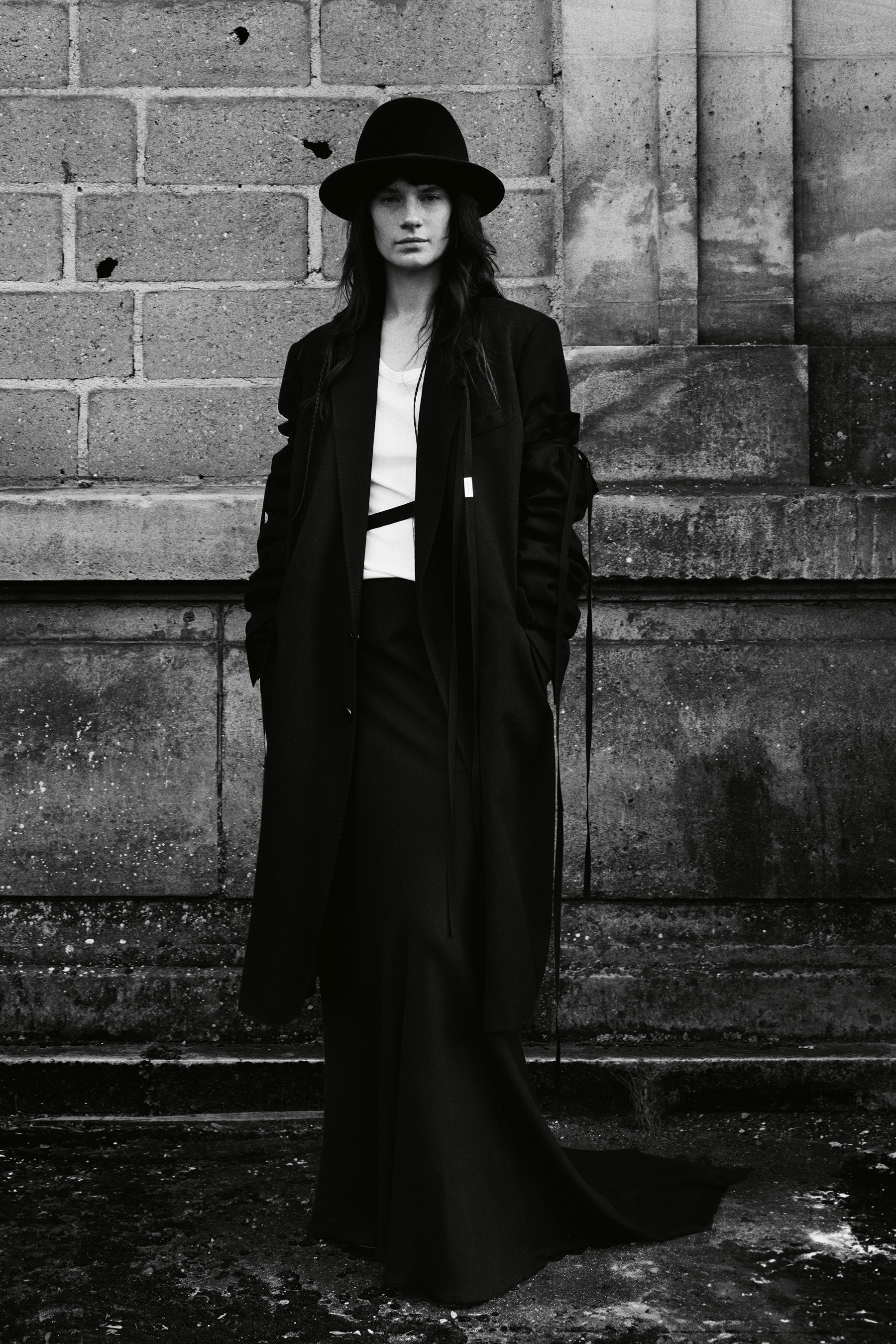Ann Demeulemeester Fall 2021 Fashion Show