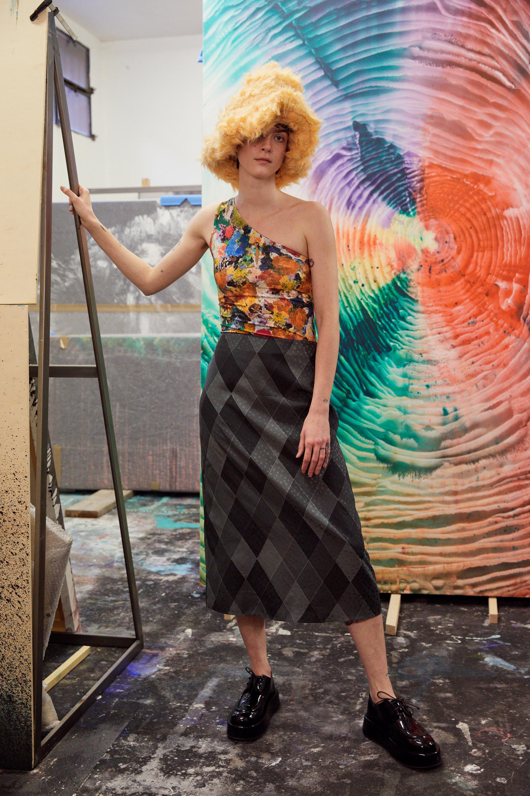 Arthur Arbesser Fall 2021 Fashion Show