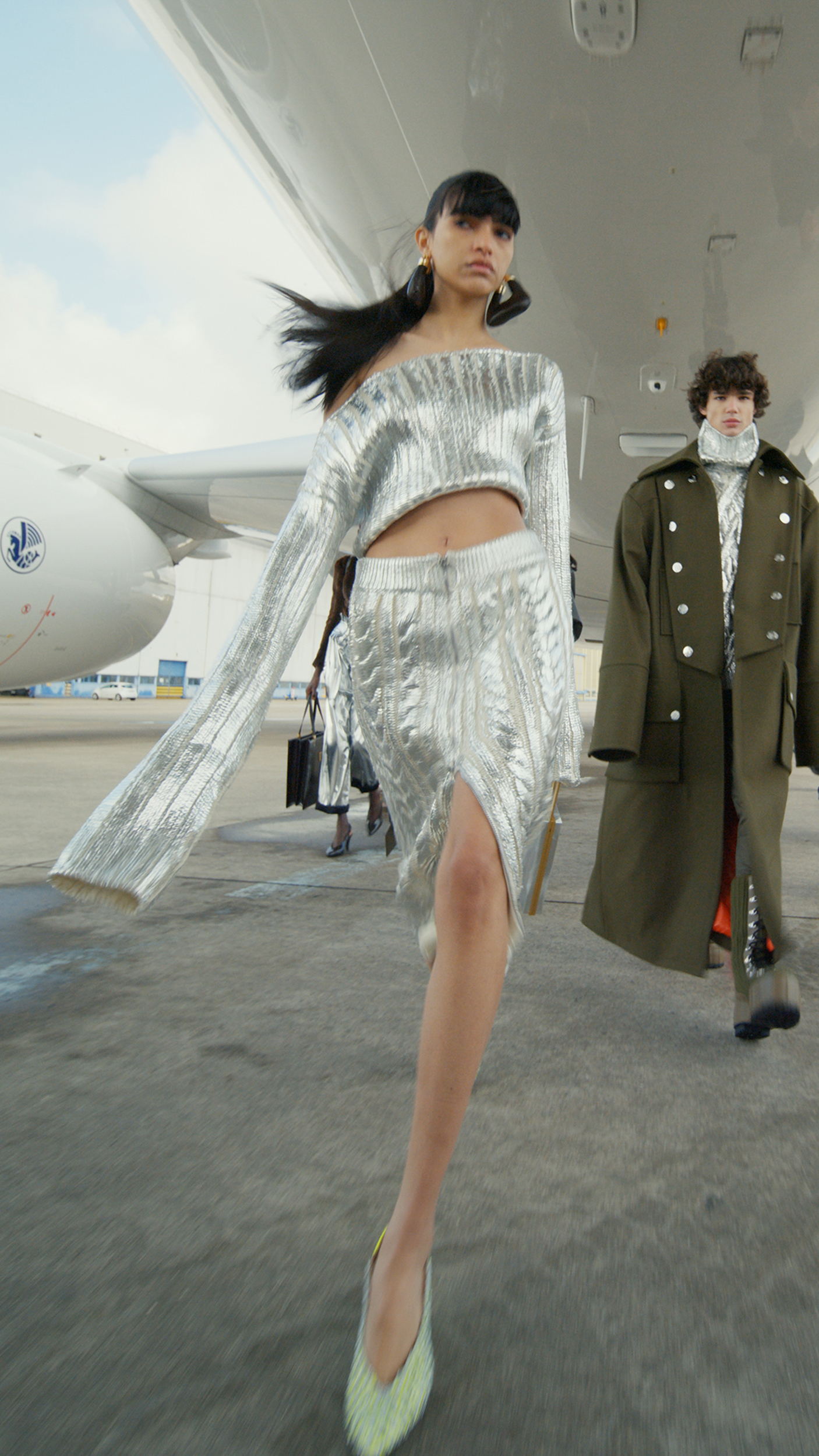 Balmain Fall 2021 Fashion Show