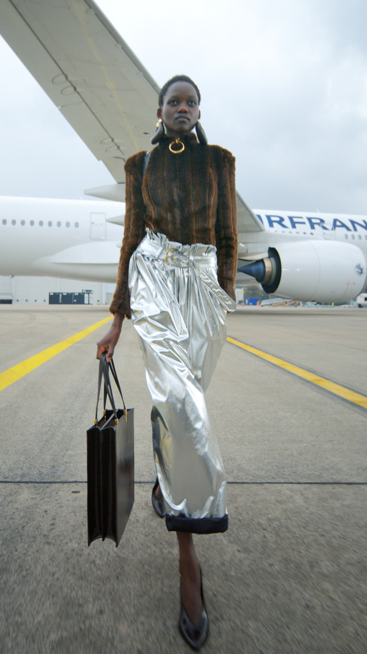 Lanvin, Balmain, Anrealage, & Schiaparelli Fall 2021 Fashion Show Review