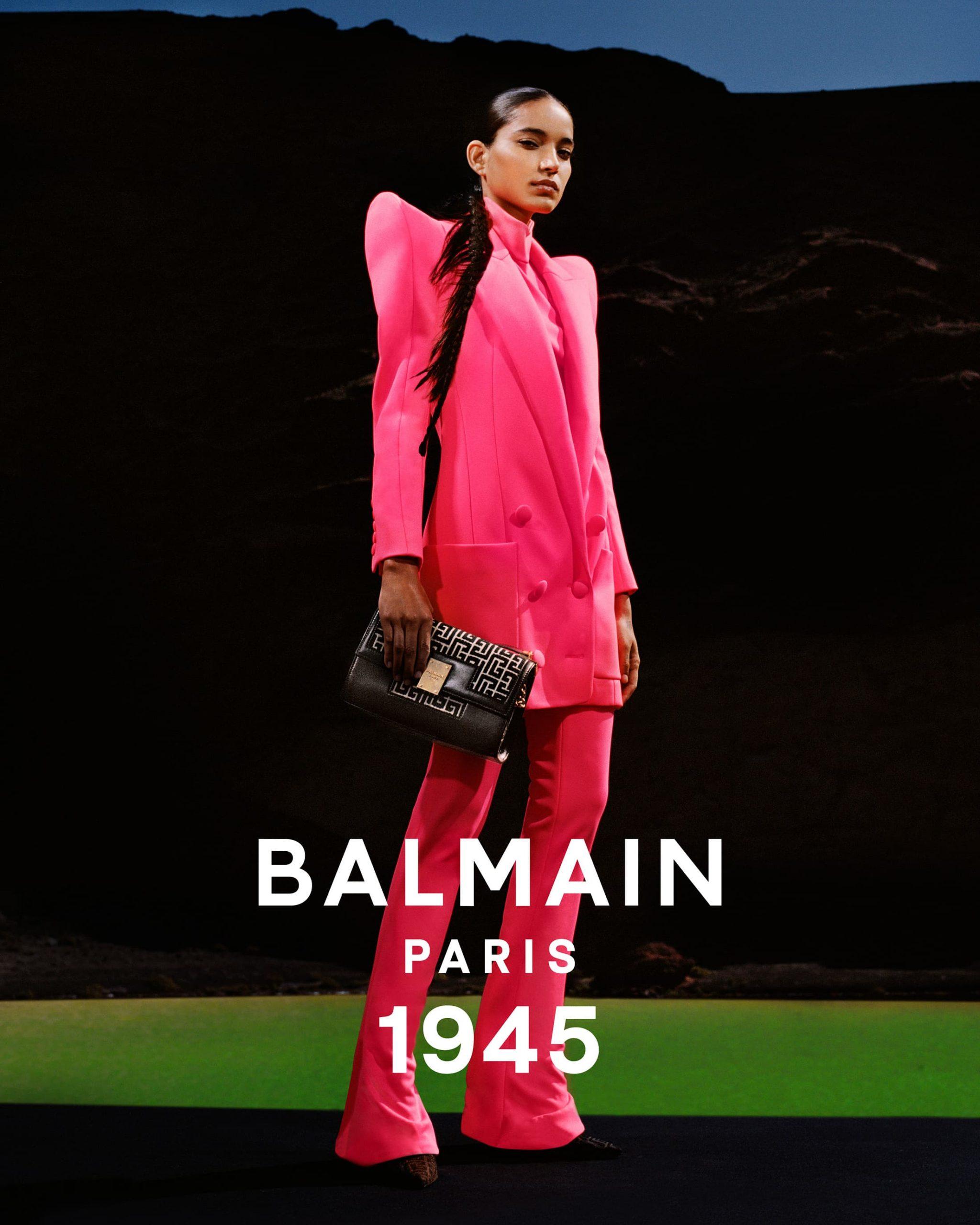 Balmain Spring 2021 Ad Campaign Photos