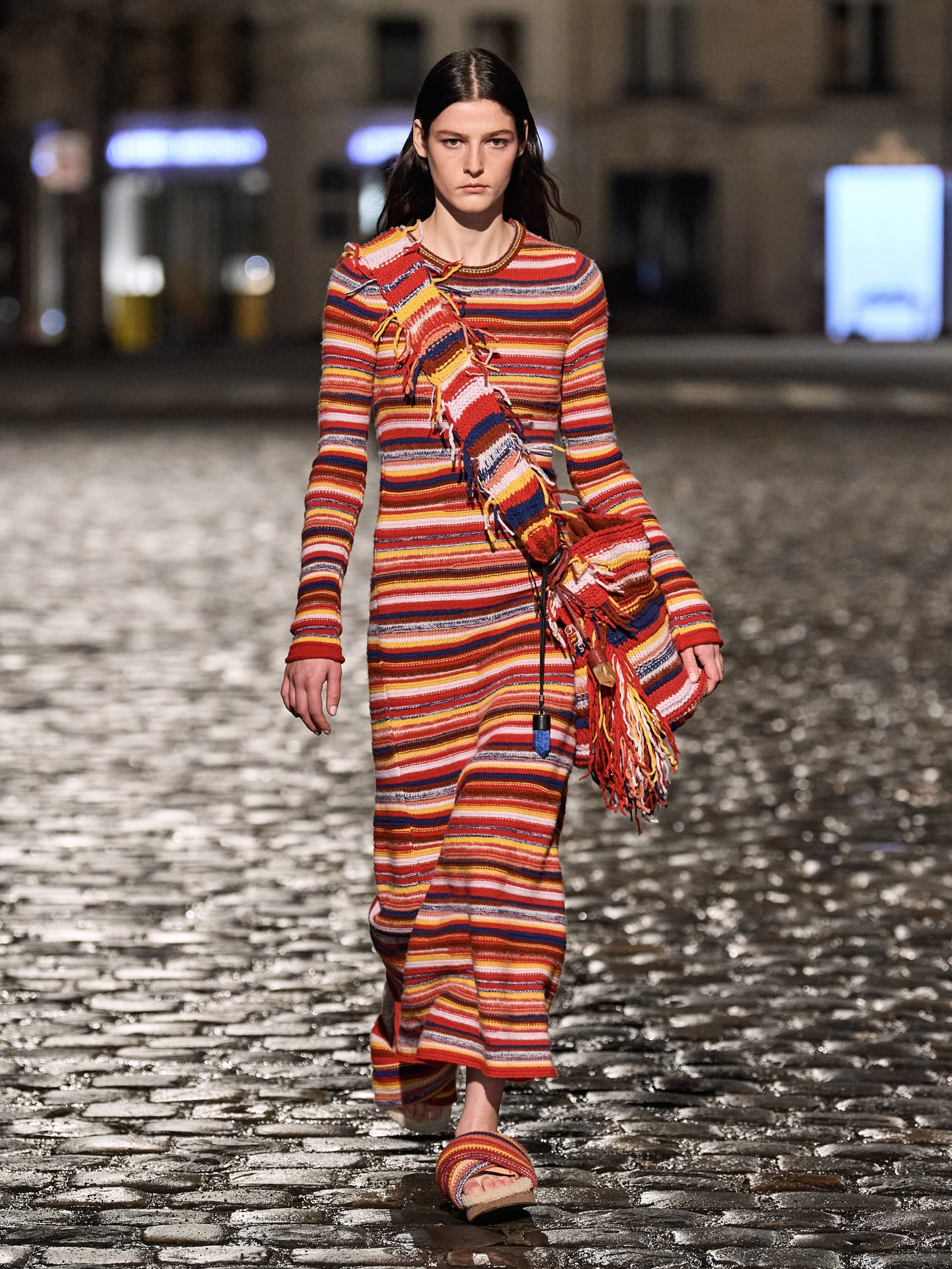 Chloé, Courrèges, Dries Van Noten, Patou & Ujoh Fall 2021 Fashion Show Review