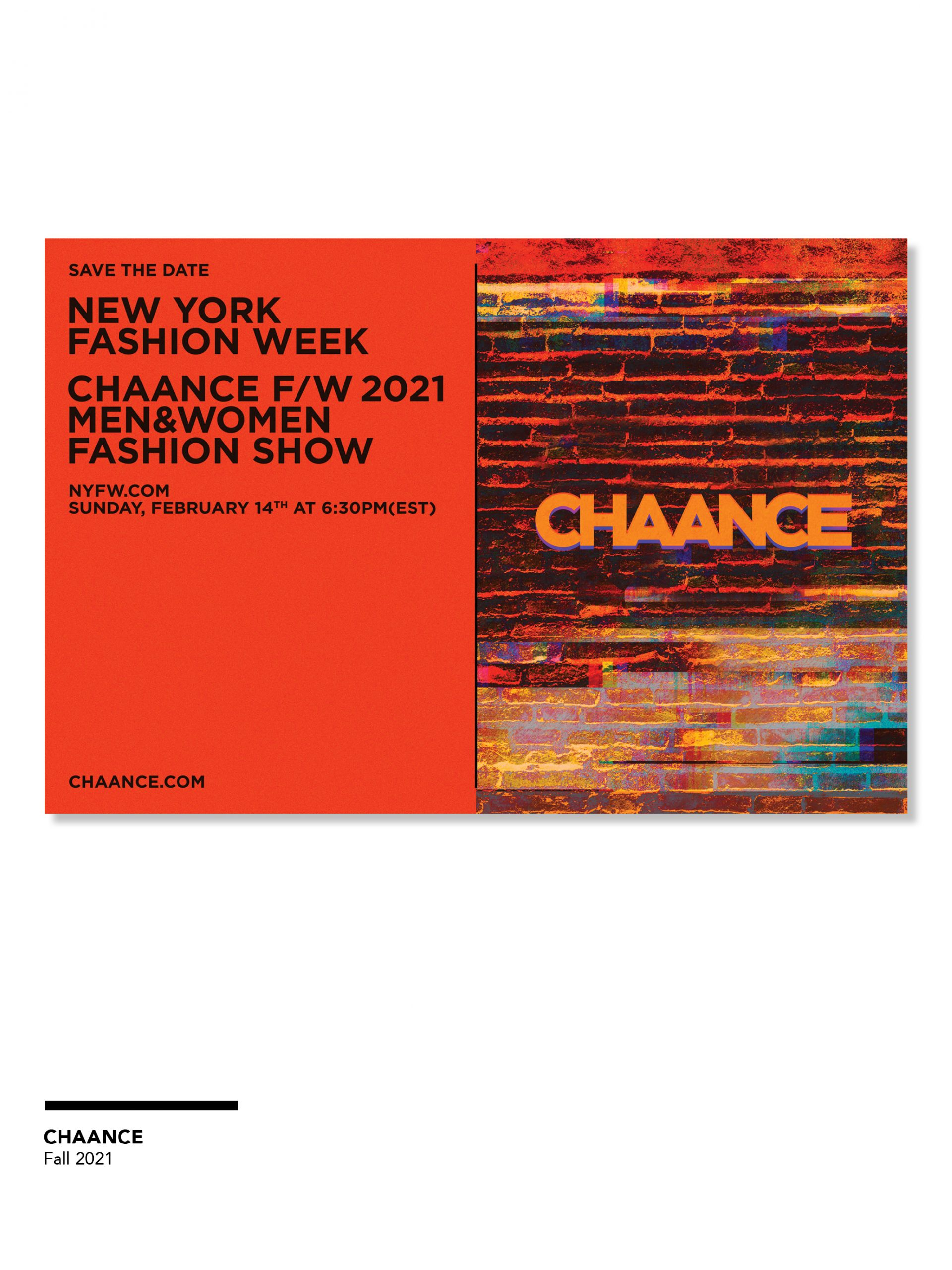 Women's Fashion Show Invitations Photos from Fall 2021